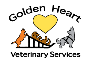 Golden Heart Veterinary Services Logo