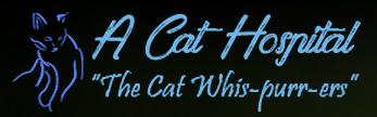 A Cat Hospital Logo