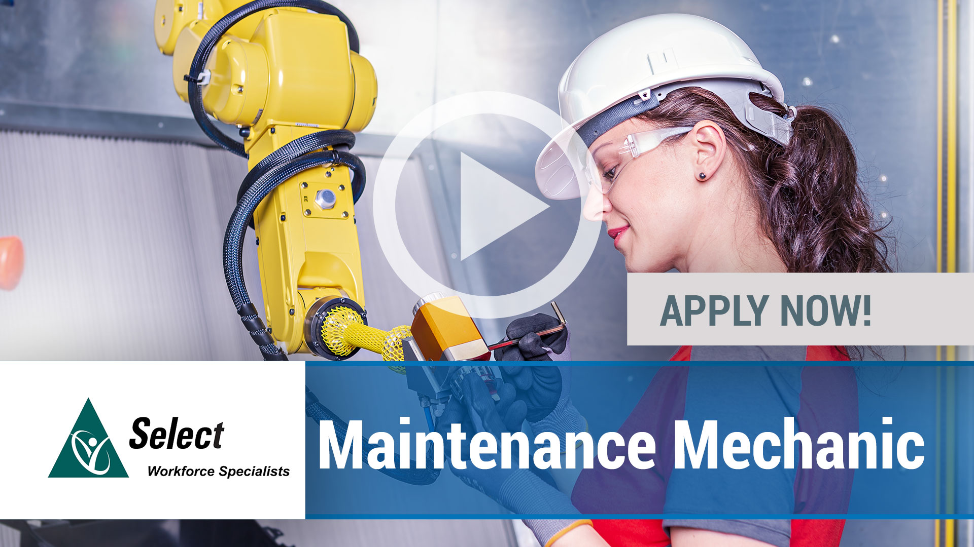 Watch our careers video for available job opening Maintenance Mechanic in Largo, FL.  USA