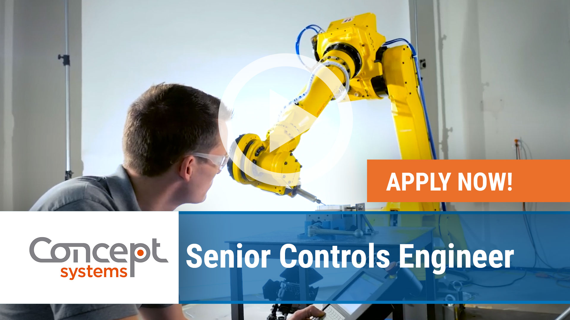 Watch our careers video for available job opening Senior Controls Engineer in Various