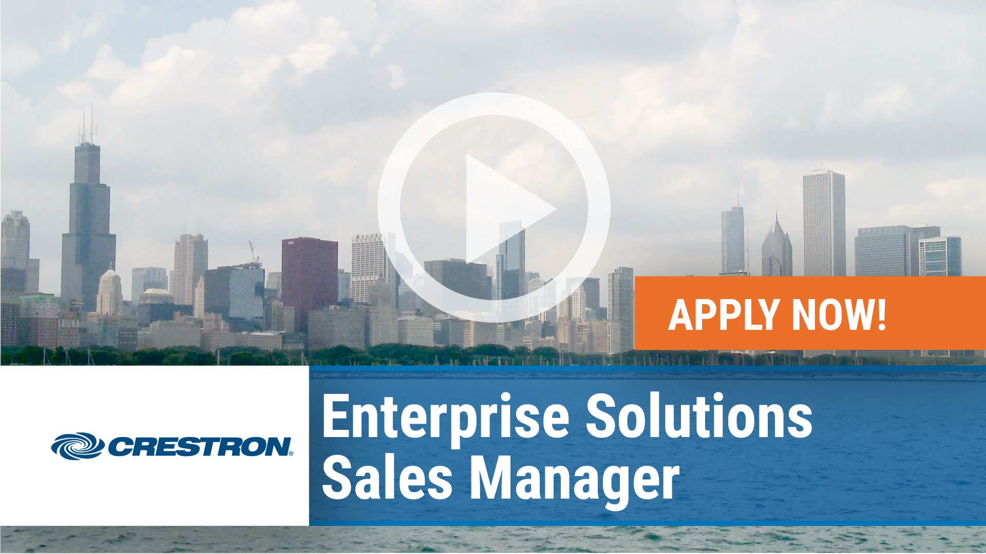 Watch our careers video for available job opening Enterprise Solutions Sales Manager in Salt Lake City, UT