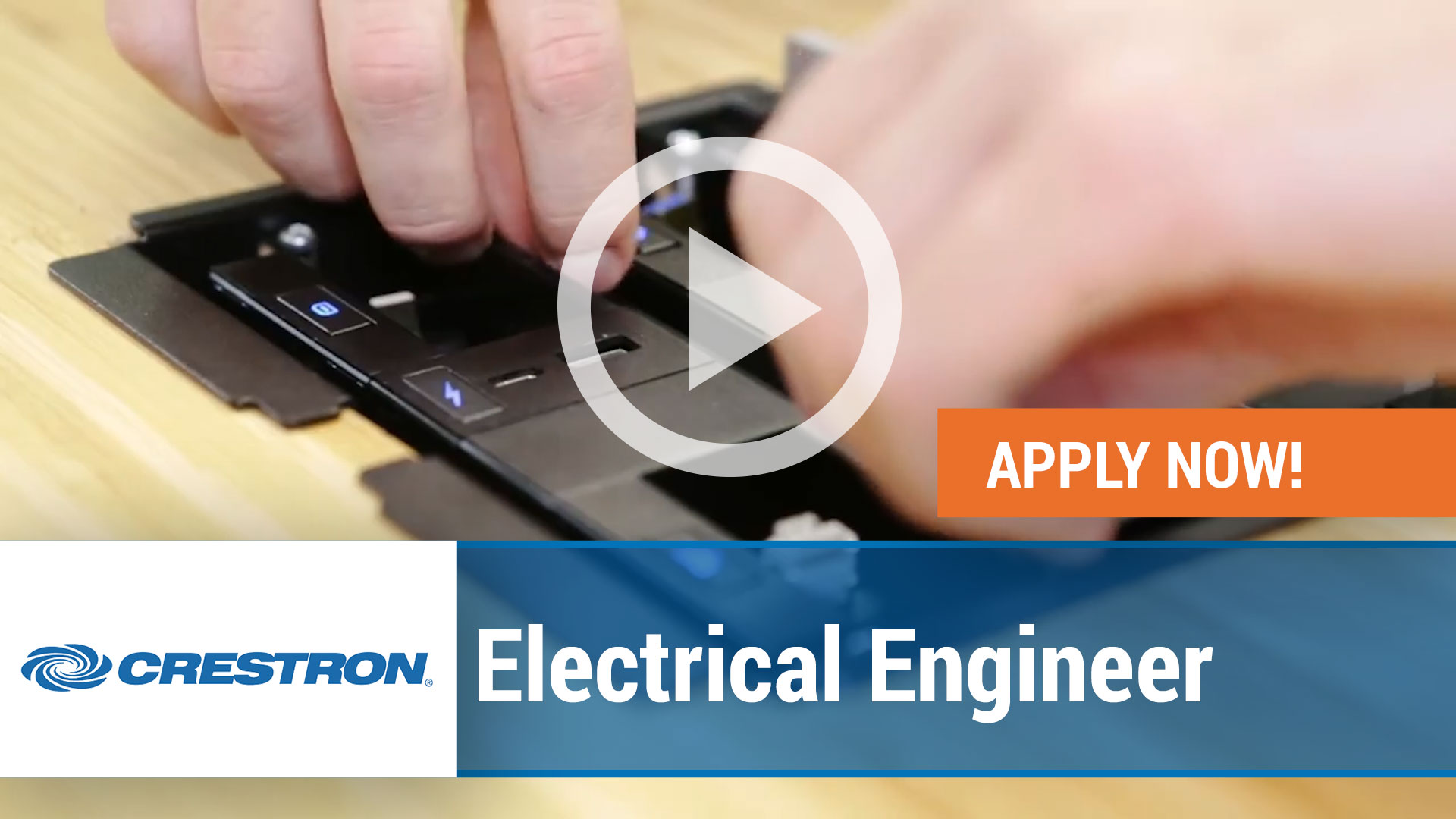 Watch our careers video for available job opening Electrical Engineer in Rockleigh, New Jersey