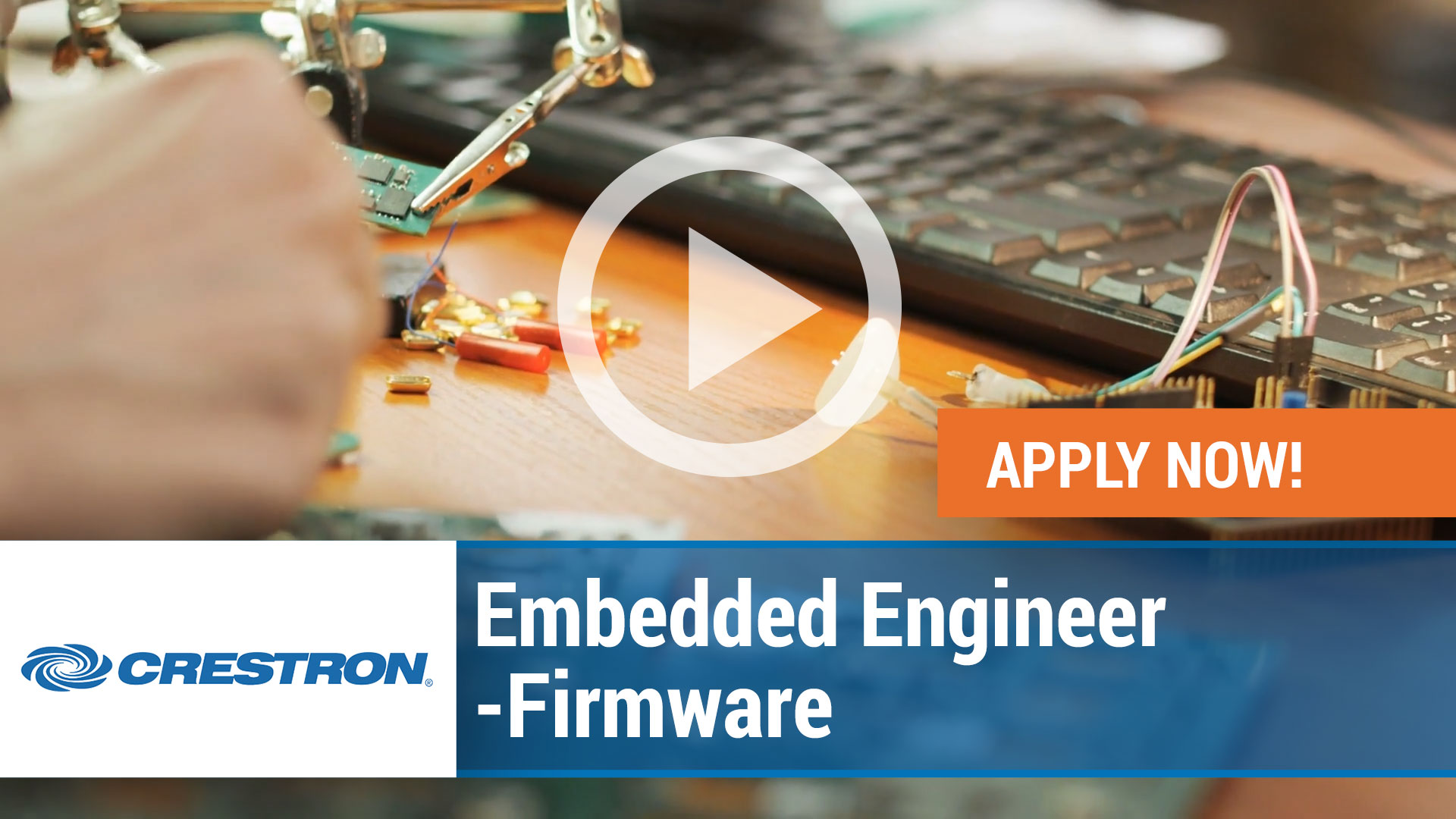 Watch our careers video for available job opening Embedded Engineer - Firmware in Rockleigh, New Jersey