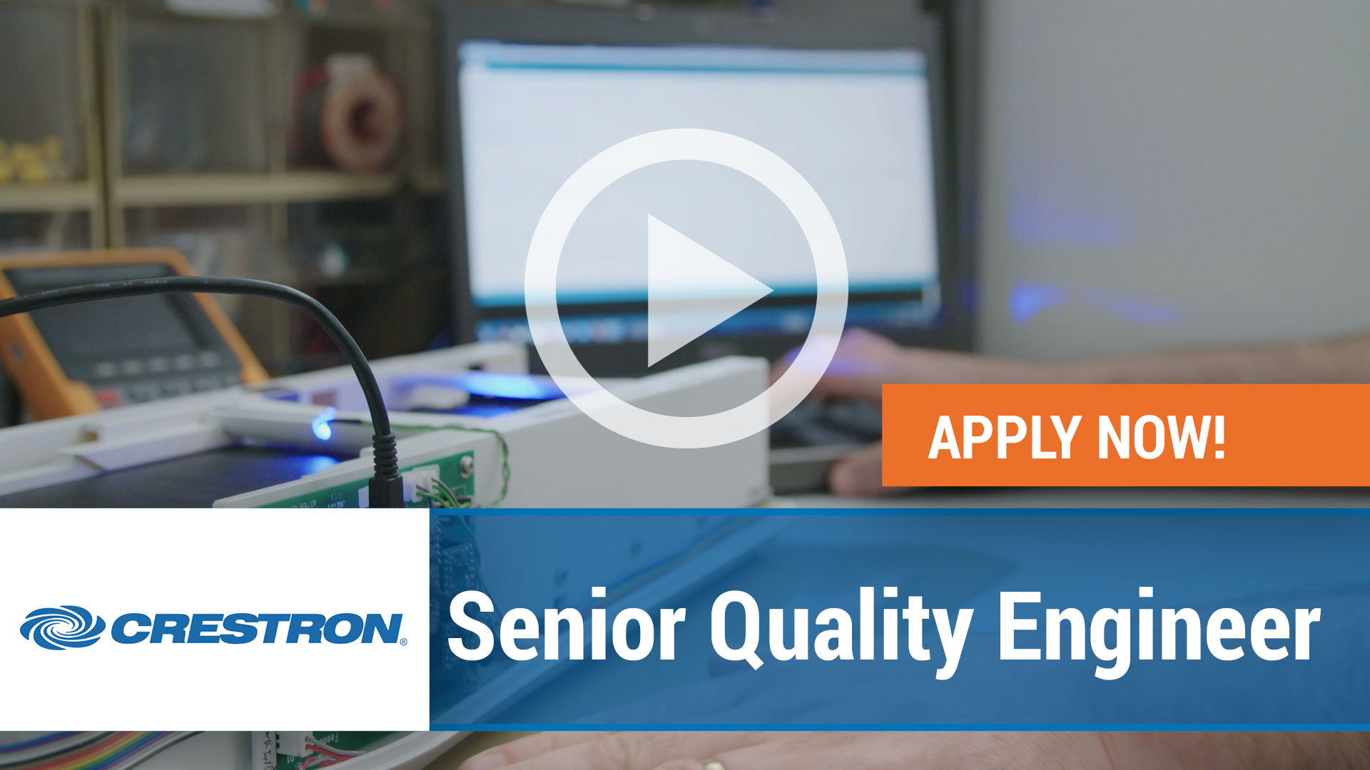 Watch our careers video for available job opening Senior Quality Engineer in Rockleigh, New Jersey