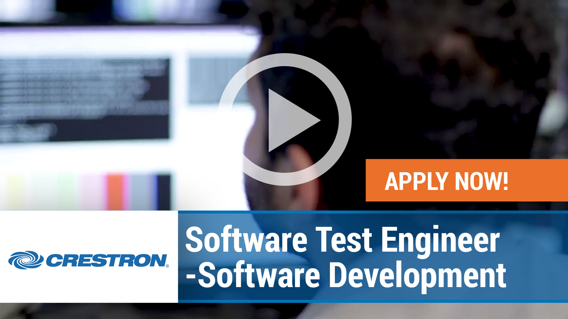 Watch our careers video for available job opening Software Test Engineer – Software Development in Rockleigh, New Jersey
