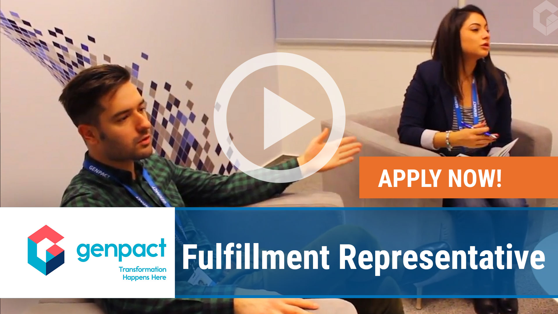 Watch our careers video for available job opening Fulfillment Representative in TBD, TBD