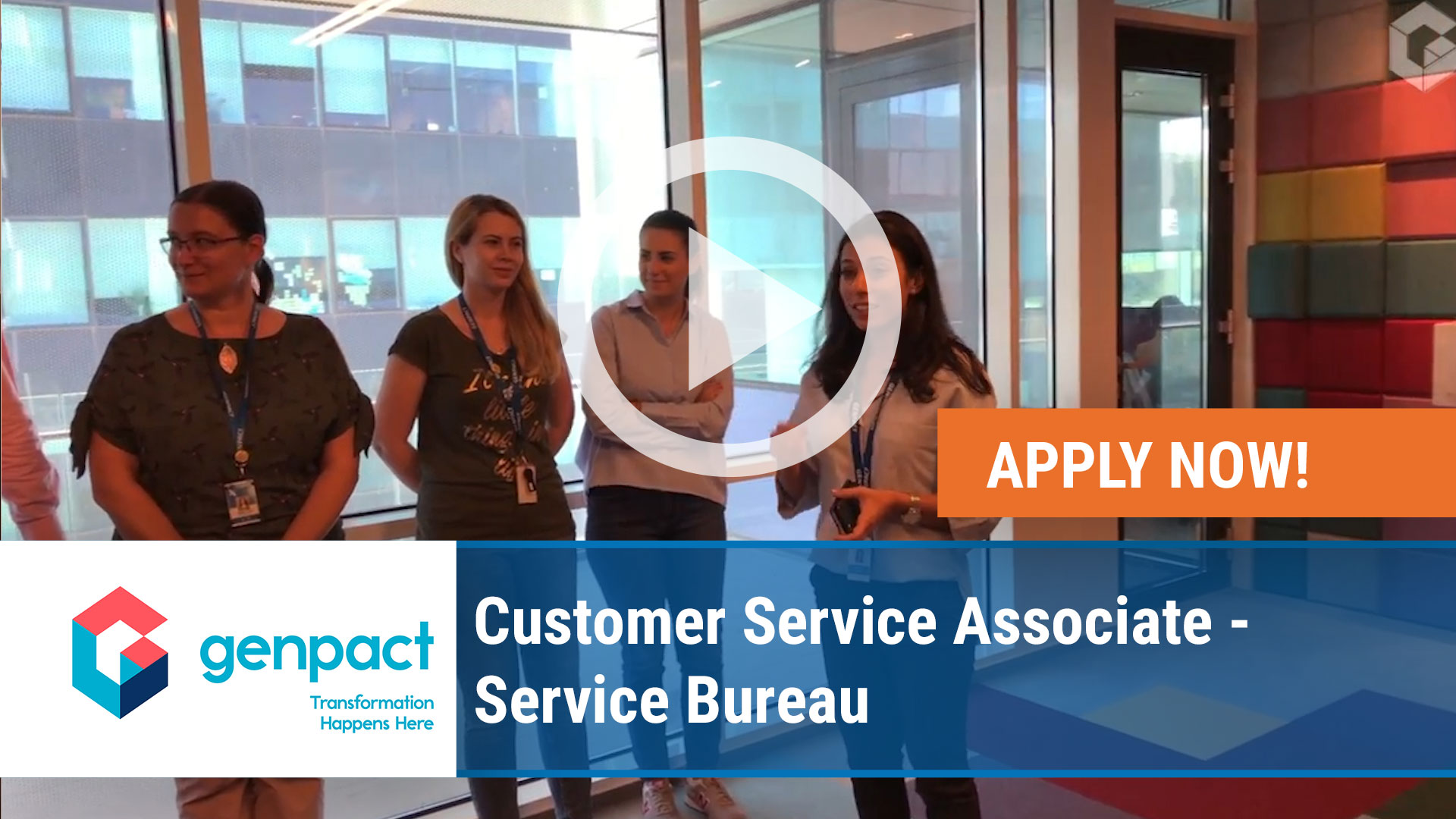 Watch our careers video for available job opening Customer Service Associate – Service Bureau in Wilkes-Barre, Pennsylvania
