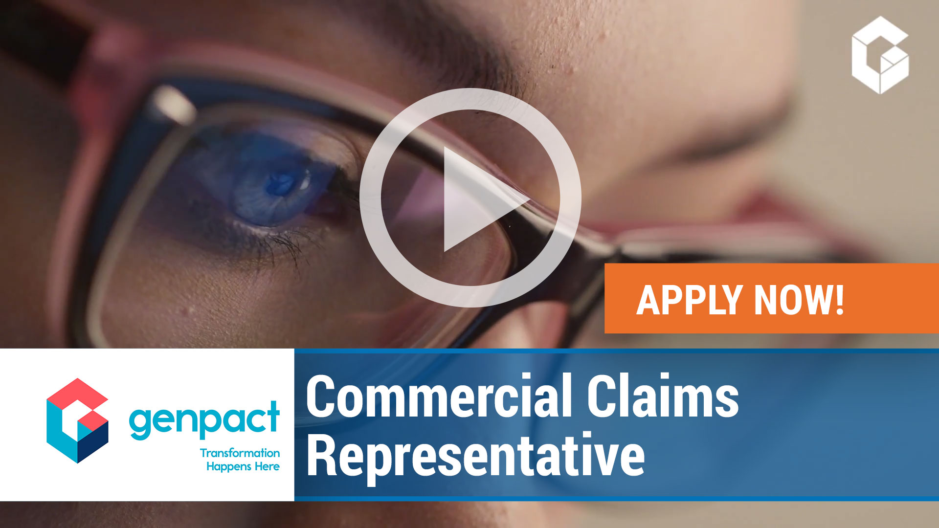 Watch our careers video for available job opening Specialty Rep, Commercial Claims Team in Cedar Park, Texas