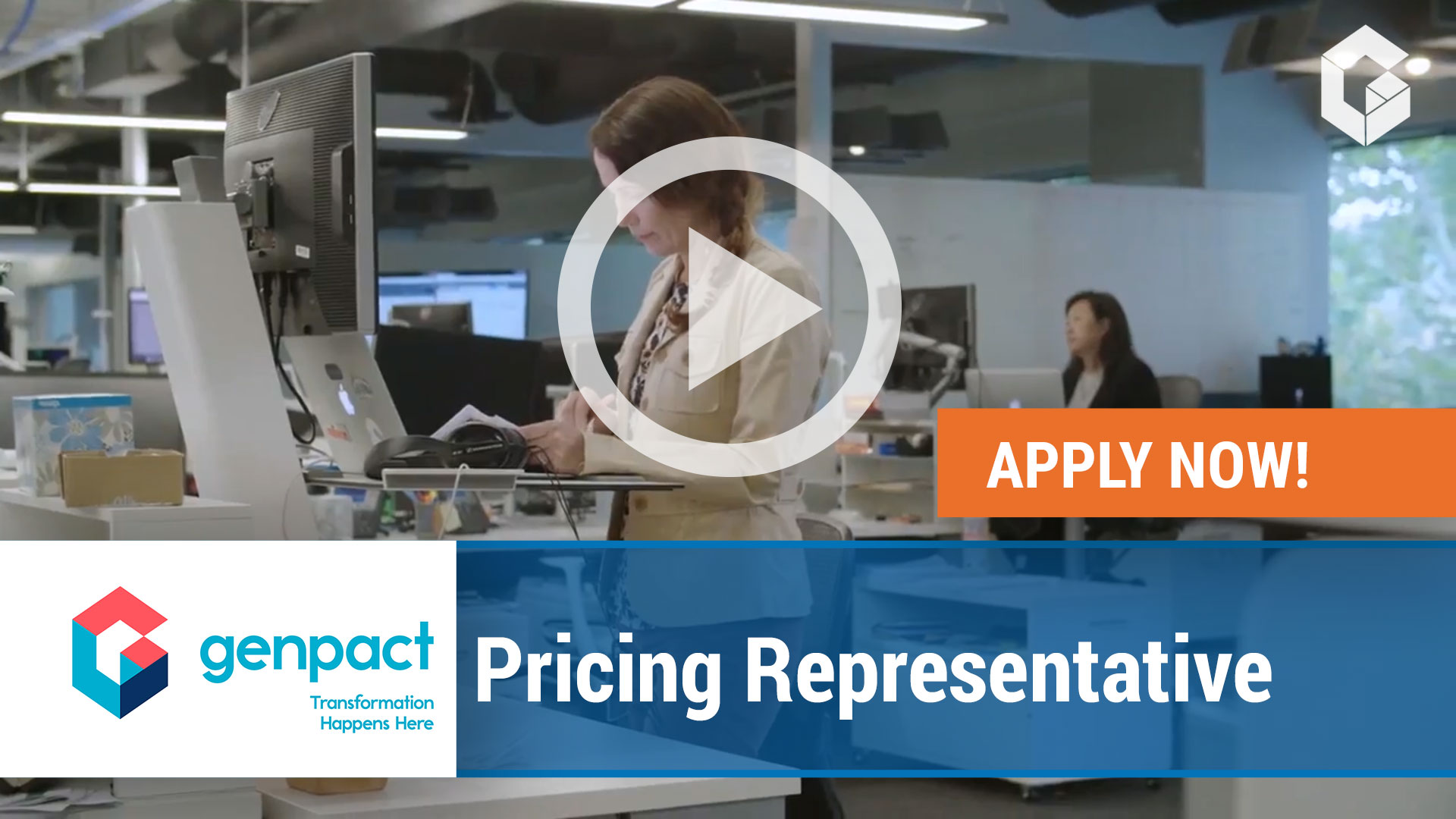 Watch our careers video for available job opening Pricing Representative in Cedar Park, Texas