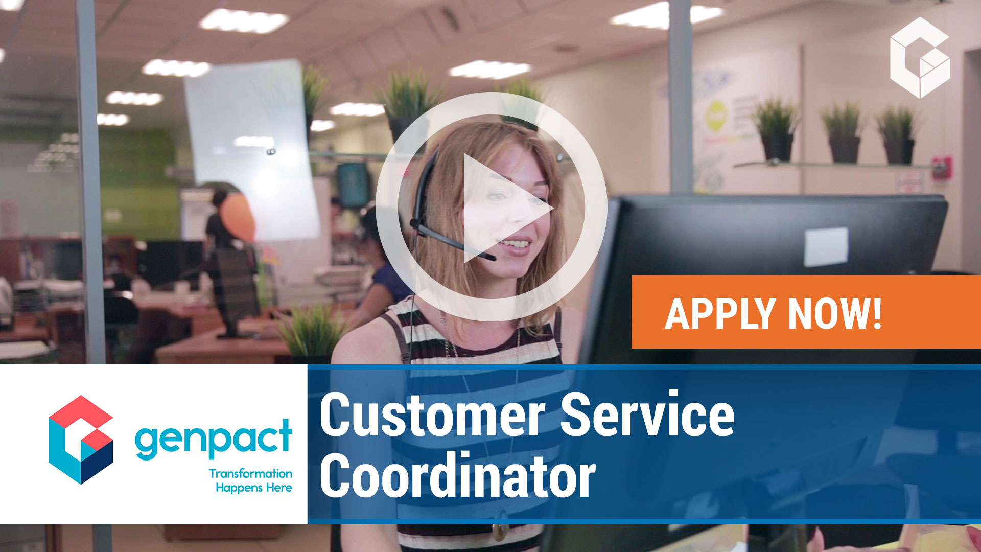 Watch our careers video for available job opening Customer Service Coordinator in Wilkes-Barre, Pennsylvania