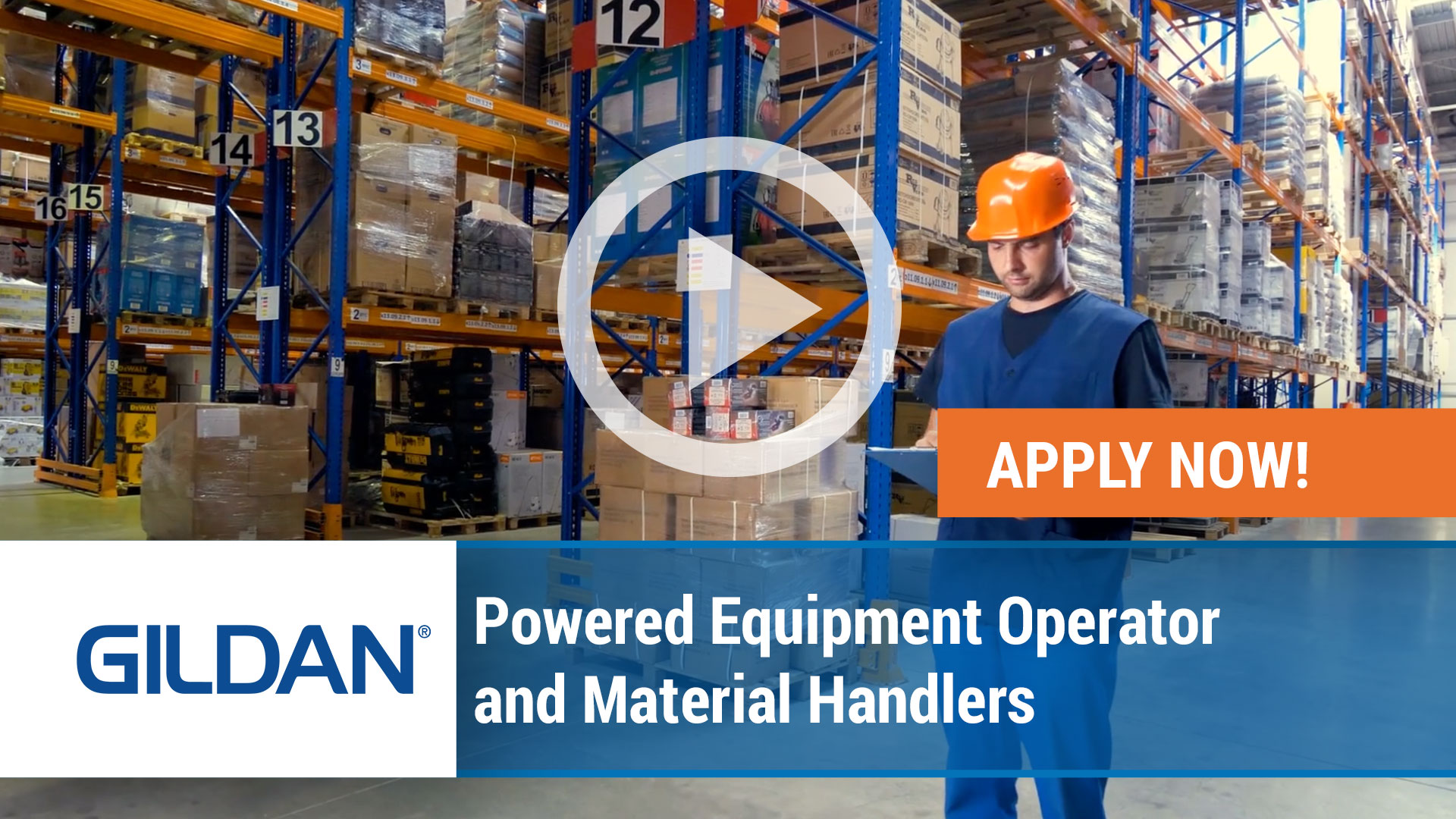 Watch our careers video for available job opening Powered Equipment Operator and Material Handlers in Charleston, South Carolina