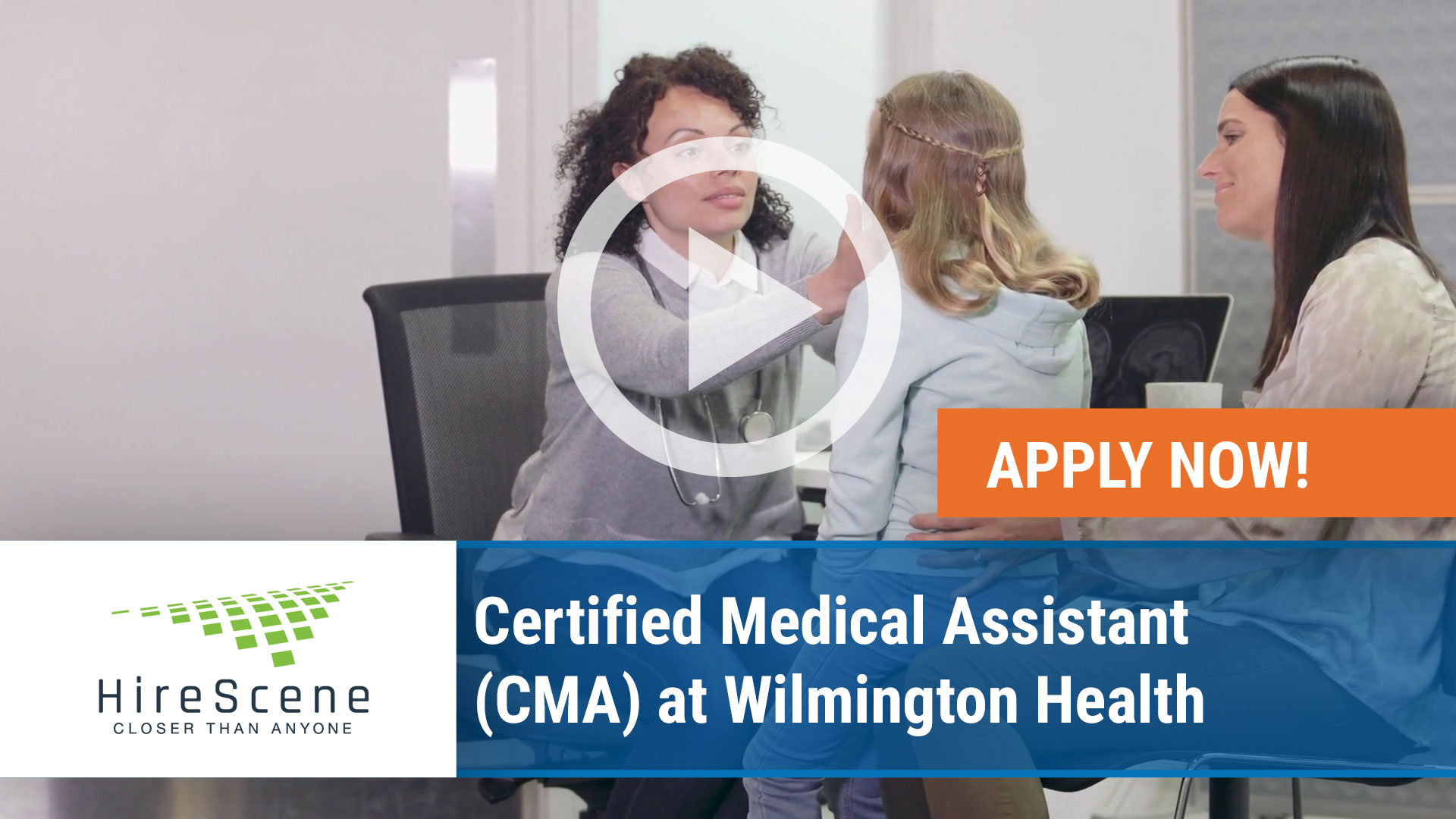 Watch our careers video for available job opening Certified Medical Assistant (CMA) at Wilmington Health in Wilmington/ Jacksonville and Leland, North Carolina