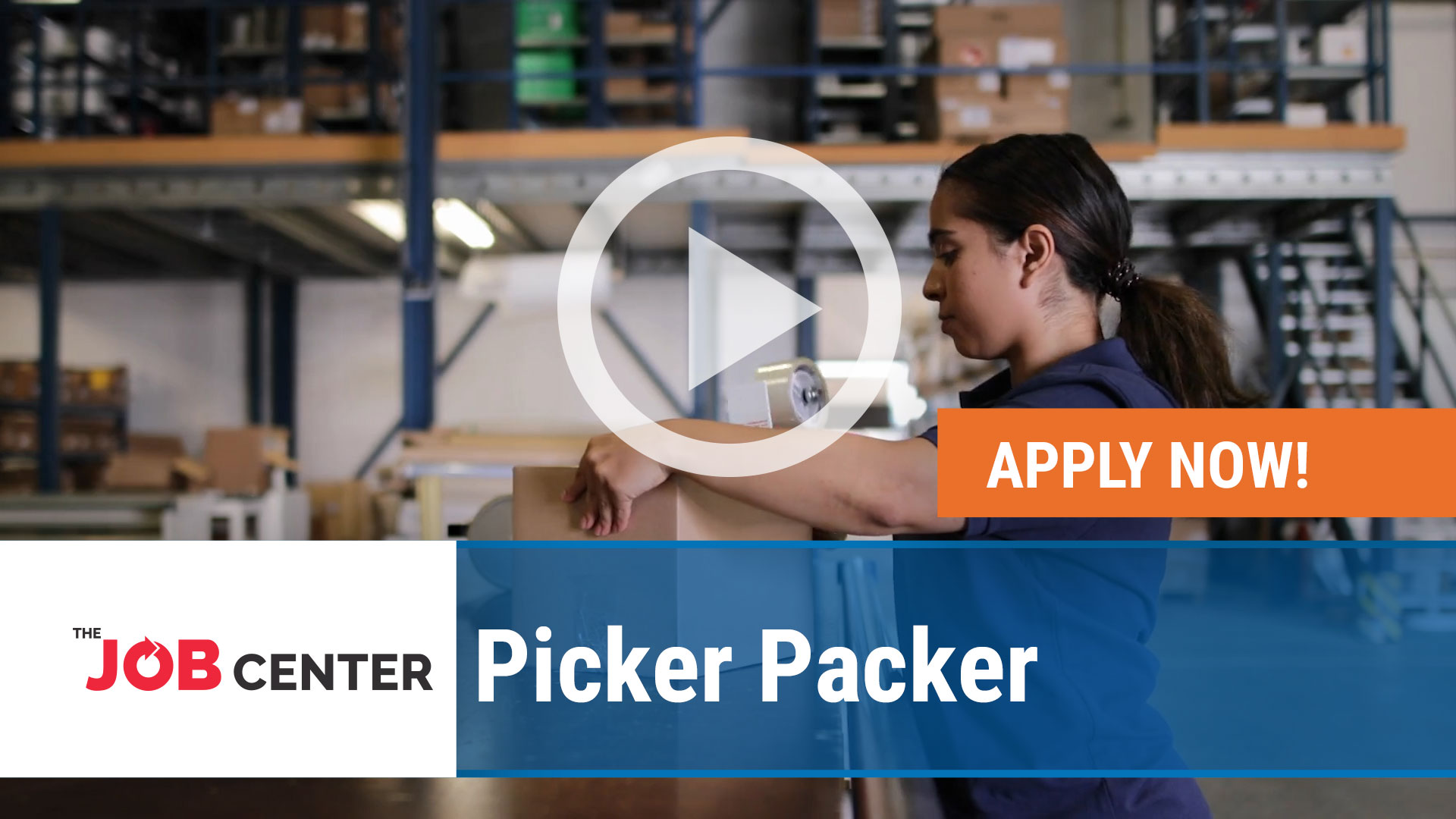 Watch our careers video for available job opening Picker Packer in Multiple, Ohio and Kentucky