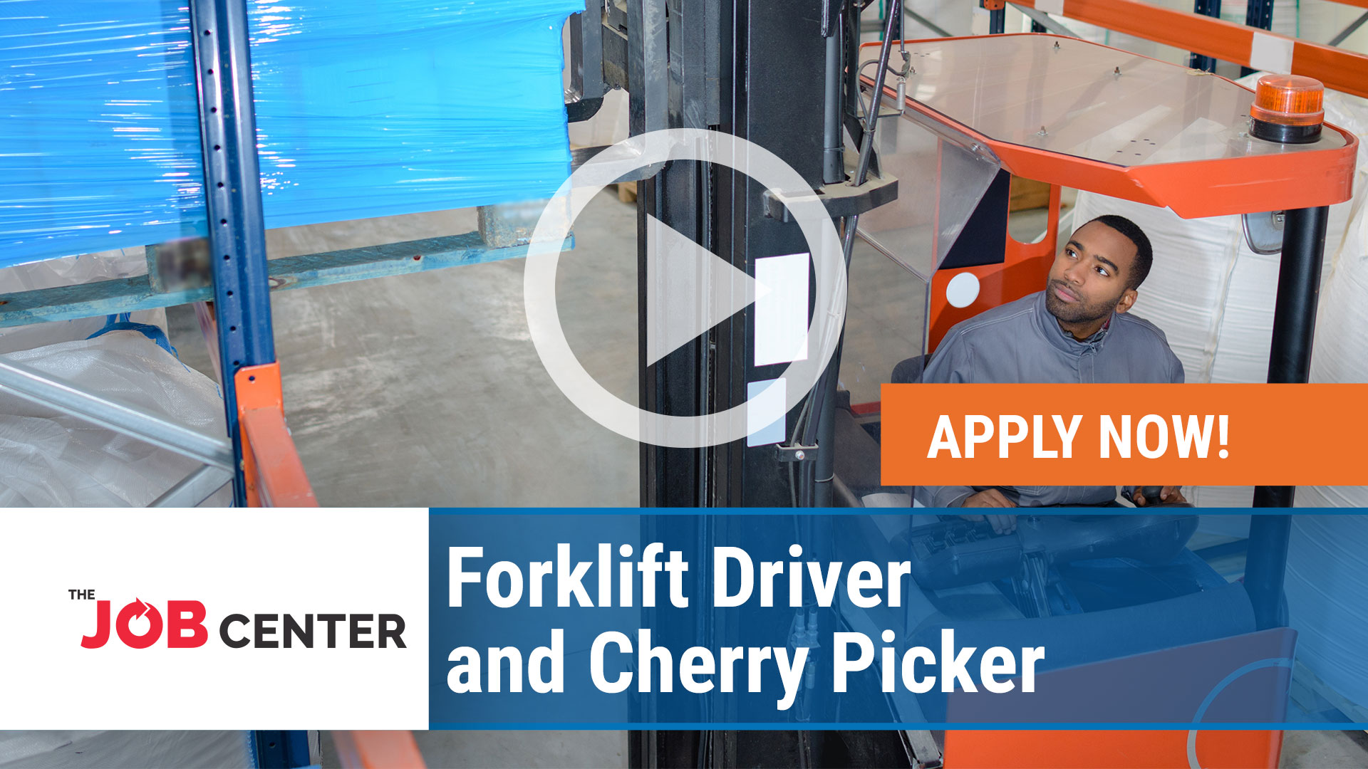 Watch our careers video for available job opening Forklift Driver and Cherry Picker in Multiple, Texas/ Ohio/ Kentucky/ Indiana/ New Hampshire