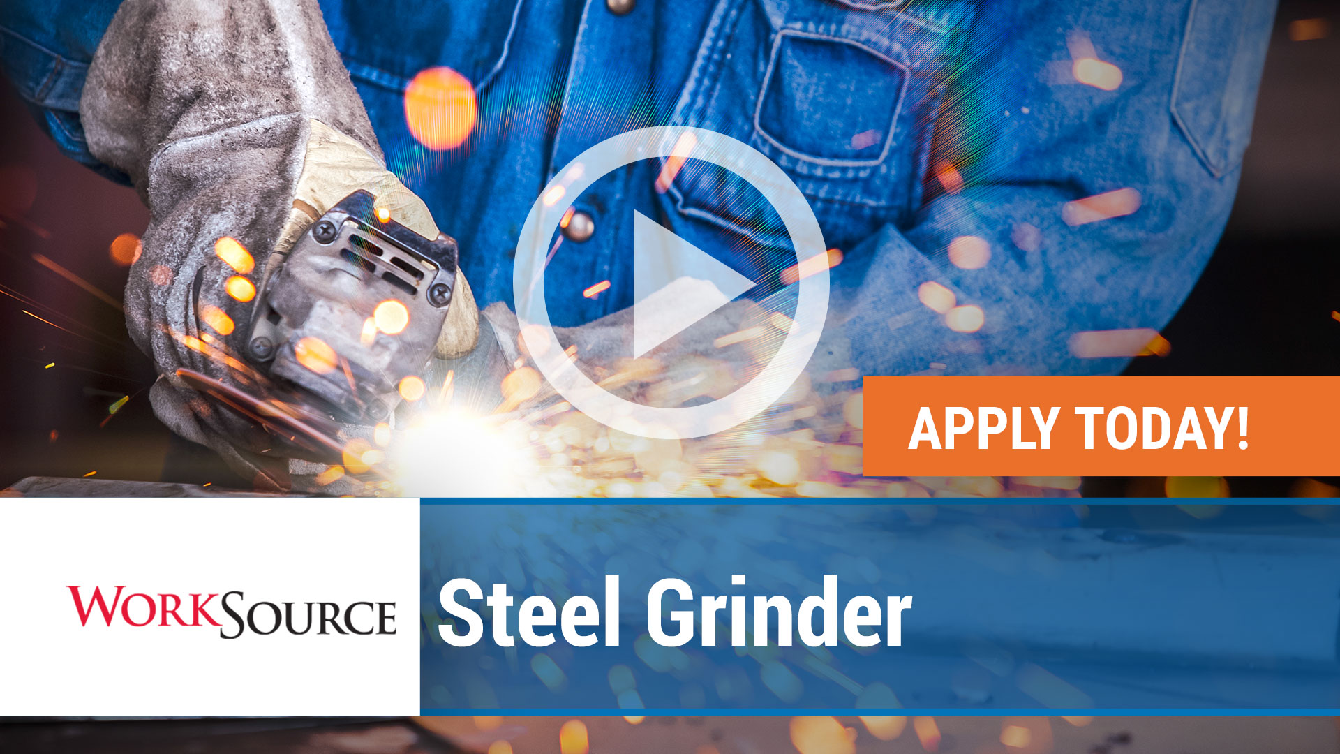 Watch our careers video for available job opening WS Steel Grinder in Fort Smith,  Arkansas