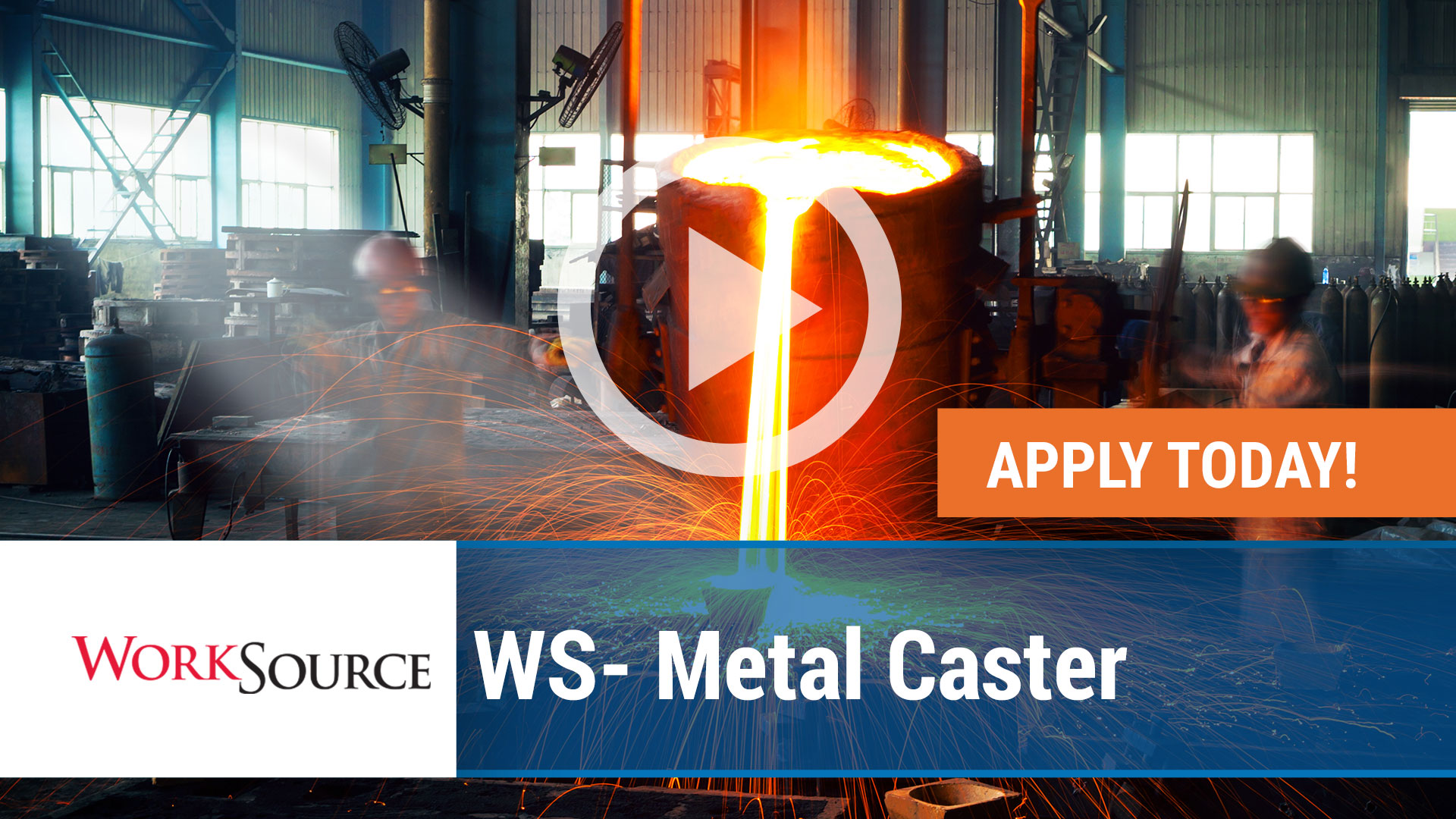 Watch our careers video for available job opening WS Metal Caster in Fayetteville,Arkansas. USA