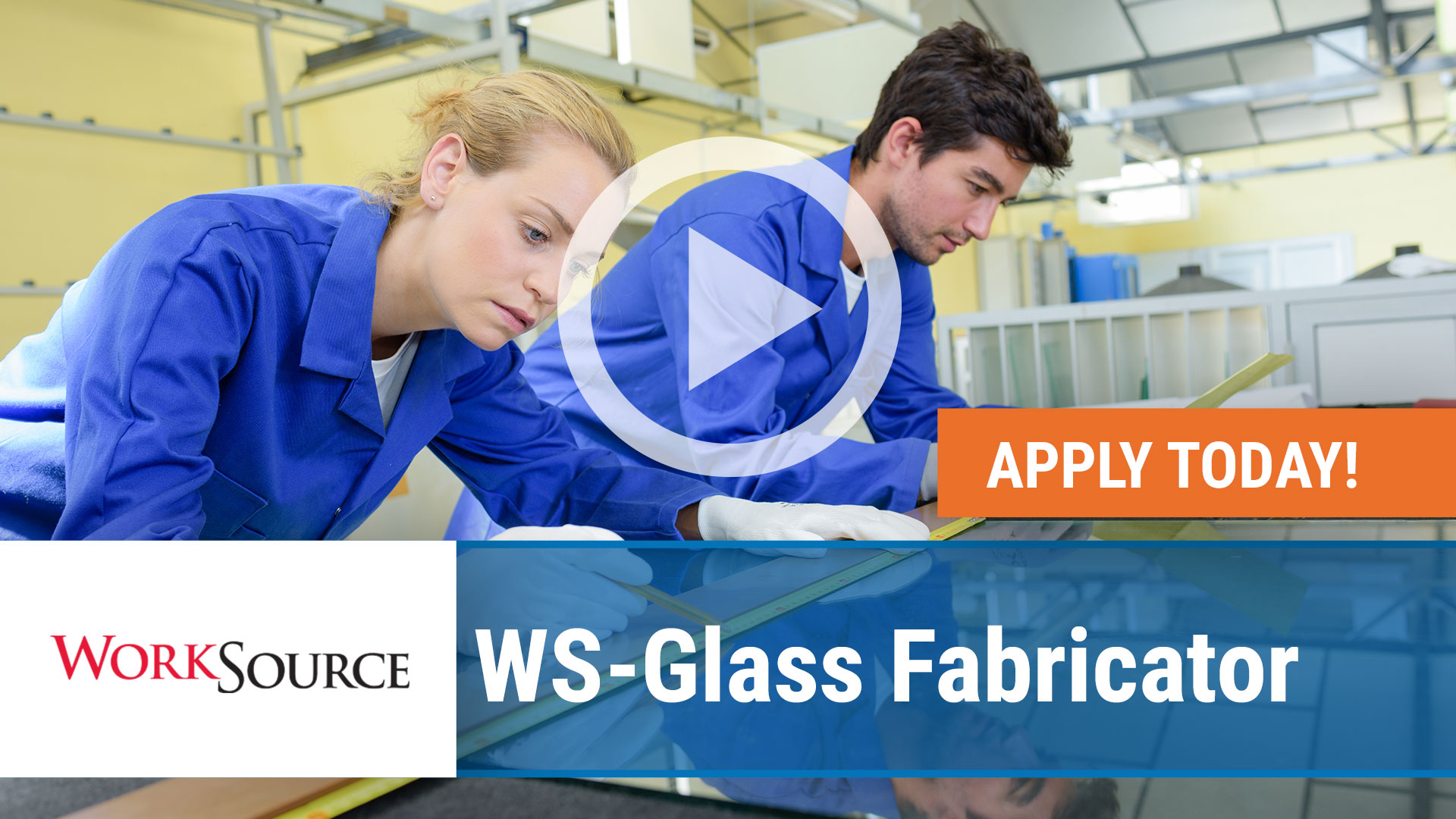 Watch our careers video for available job opening WS Glass Fabricator in Forth Smith,Arkansas. USA