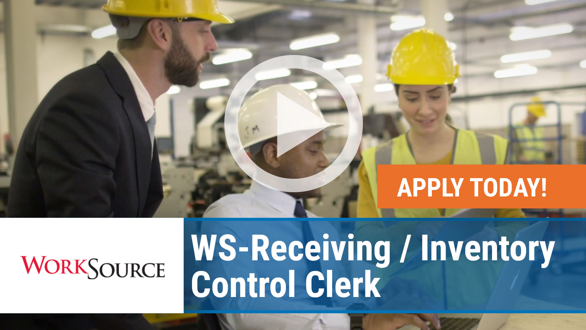 Watch our careers video for available job opening WS Receiving - Inventory Control Clerk in Decatur, Arkansas