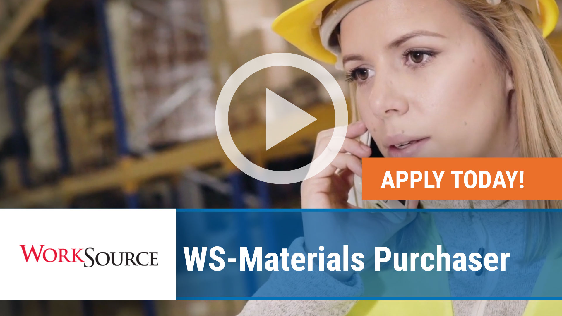 Watch our careers video for available job opening WS Materials Purchaser in Russellville, Arkansas