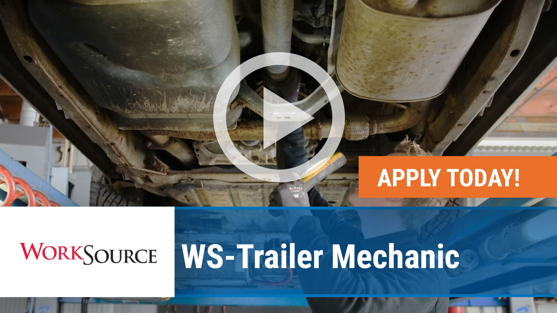 Watch our careers video for available job opening WS Trailer Mechanic in Springdale, Arkansas