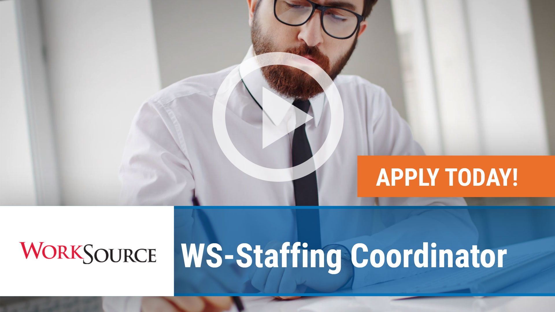 Watch our careers video for available job opening WS Staffing Coordinator in Bentonville, Arkansas