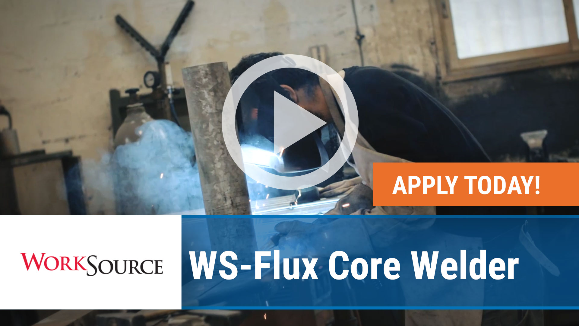 Watch our careers video for available job opening WS Flux Core Welder in Fort Smith, Arkansas