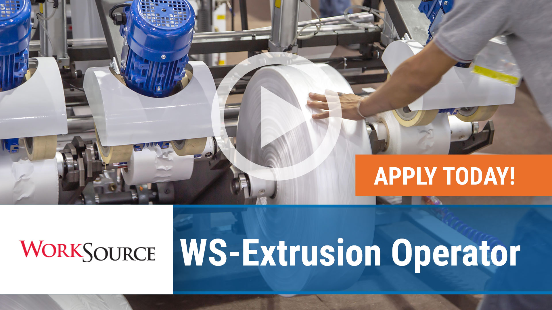 Watch our careers video for available job opening WS Extrusion Operator in Van Buren,Arkansas. USA