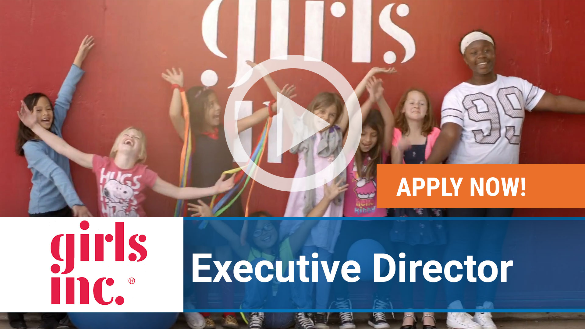 Watch our careers video for available job opening Executive Director for Girls Inc. in Washington Metropolitan Area, DC