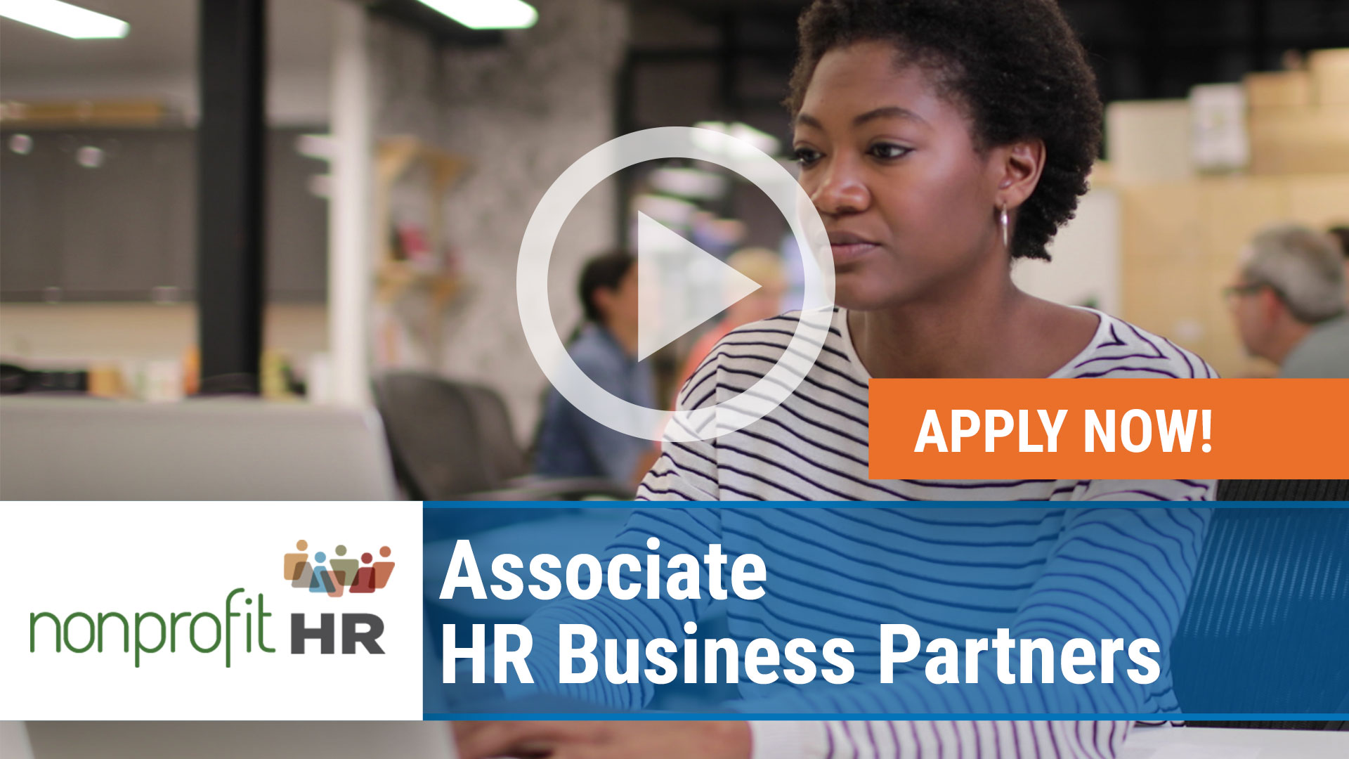 Watch our careers video for available job opening Associate HR Business Partners in Washington/ DC and Chicago, Illinois