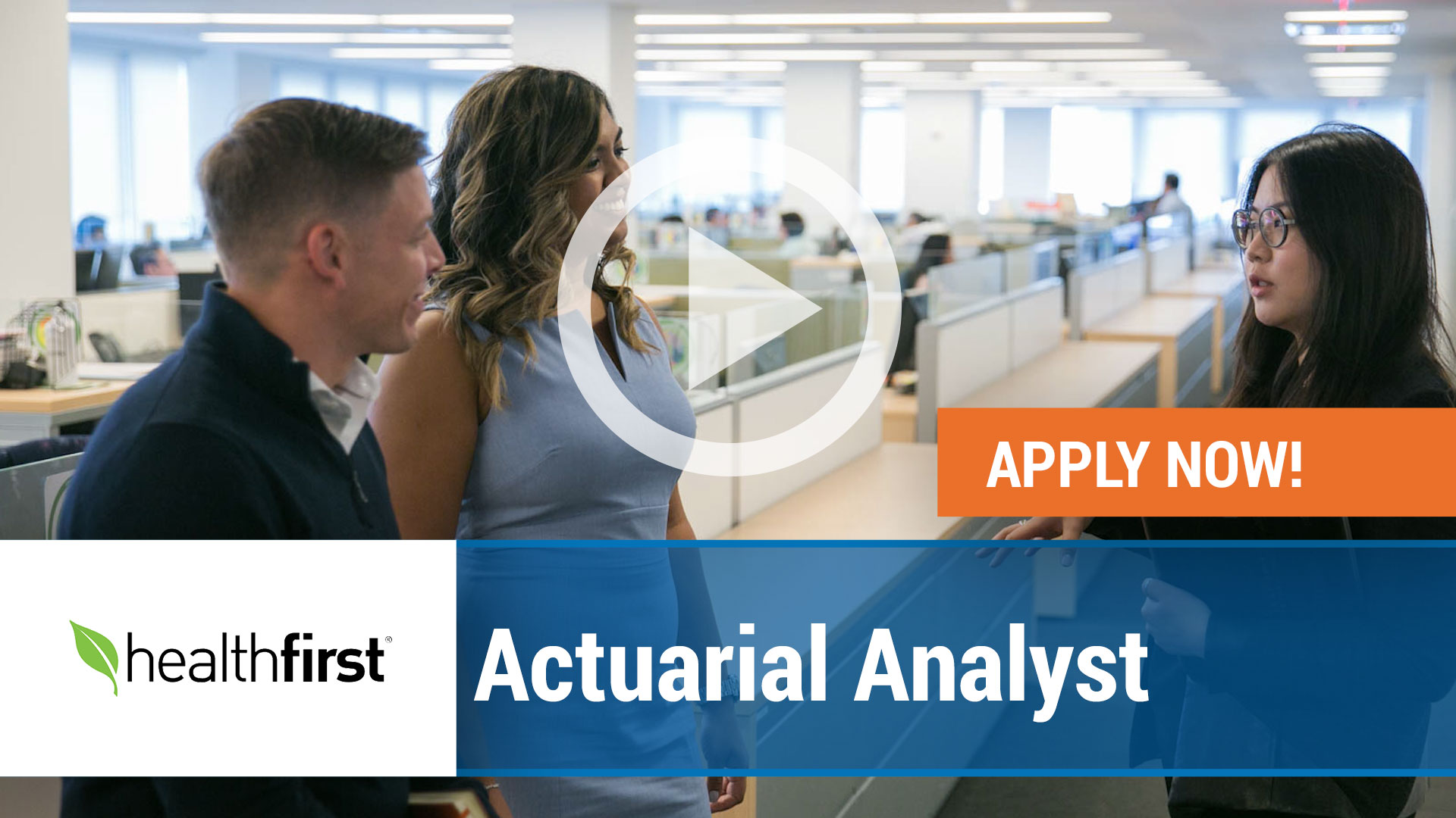 Watch our careers video for available job opening Actuarial Analyst in New York,NY. USA