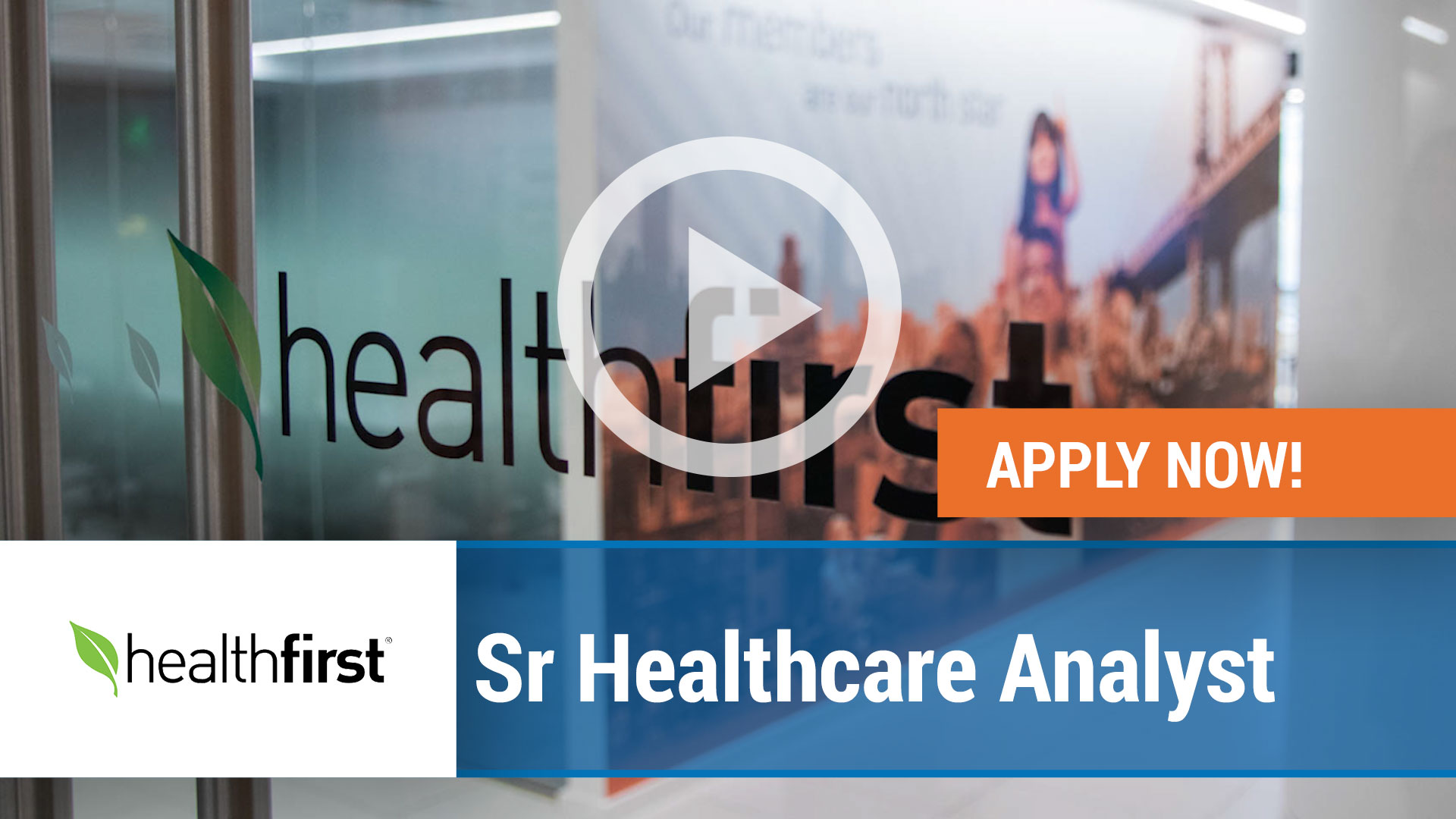 Watch our careers video for available job opening Senior Healthcare Analyst in New York,NY. USA