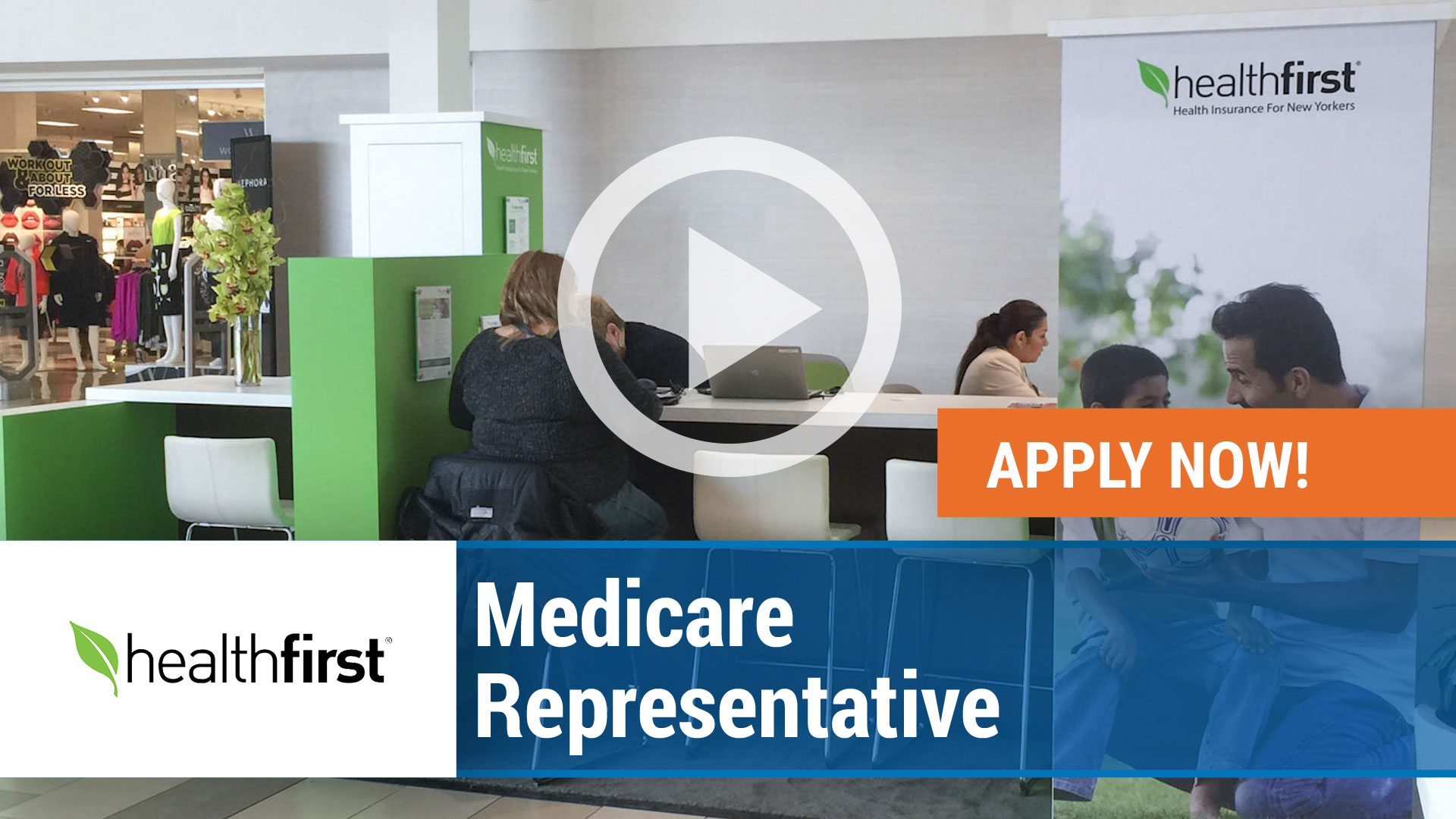 Watch our careers video for available job opening Medicare Representative in New York,NY. USA