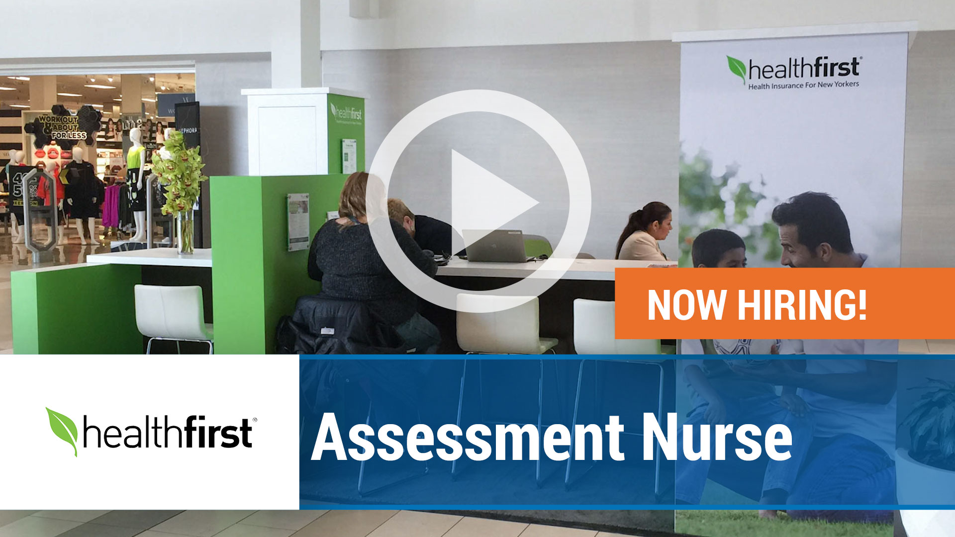 Watch our careers video for available job opening Assessment Nurse in New York,NY. USA