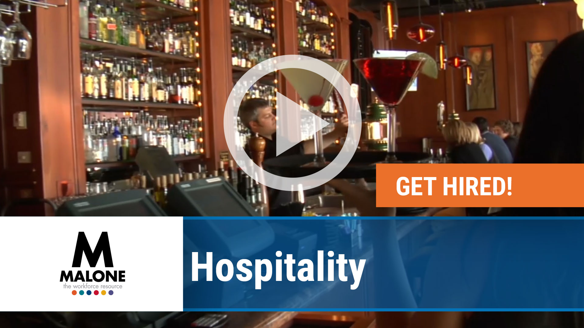 Watch our careers video for available job opening Hospitality Jobs in Multiple Locations