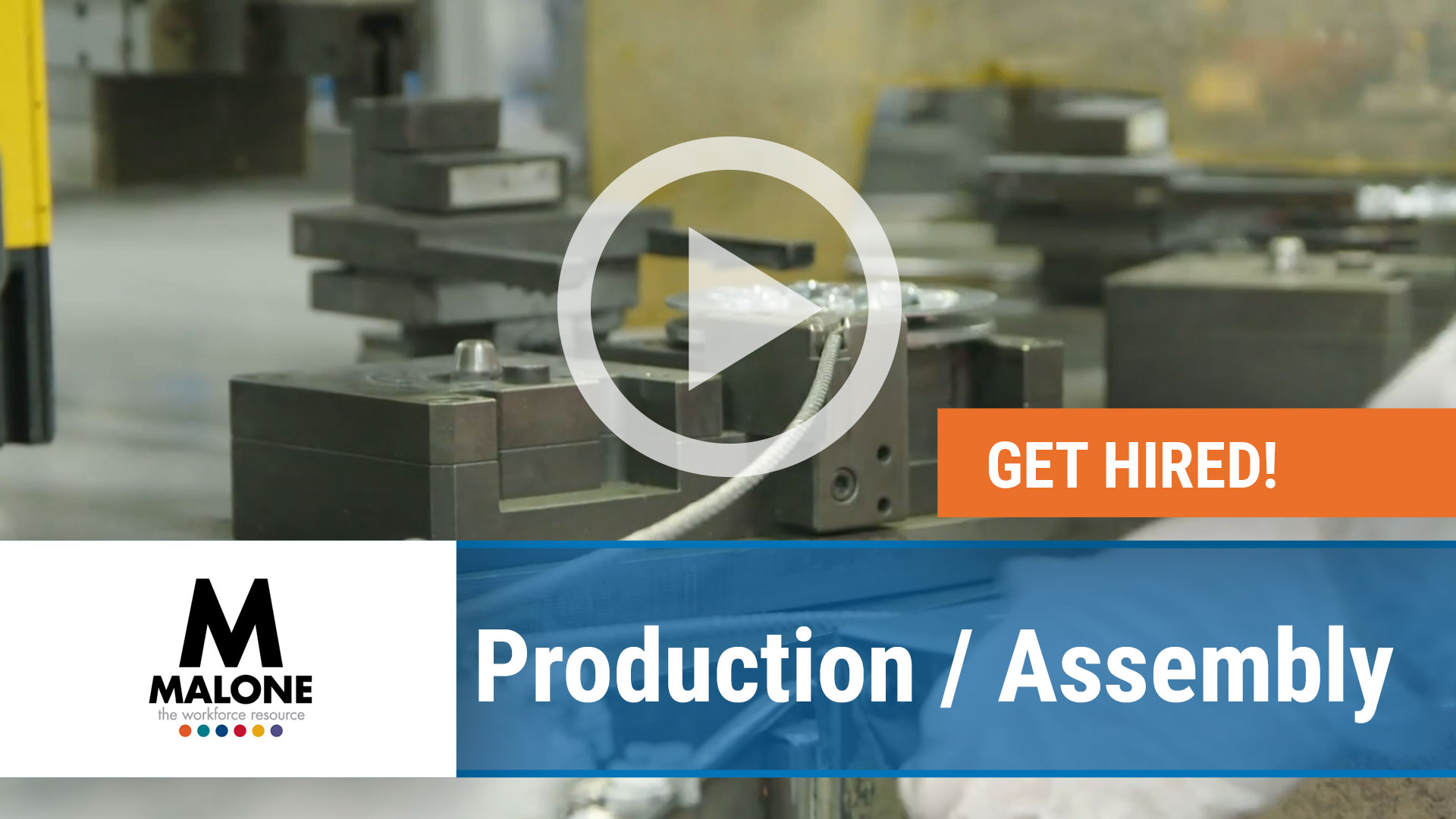 Watch our careers video for available job opening Production - Assembly in Multiple Locations
