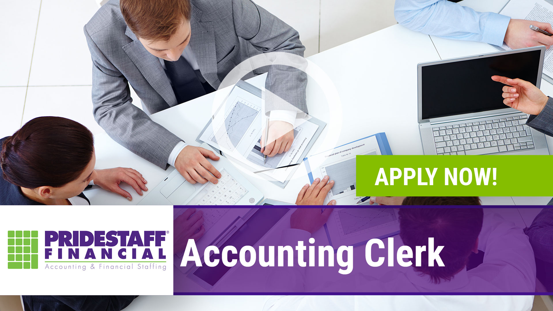 Watch our careers video for available job opening Accounting Clerk in North Dallas, Texas