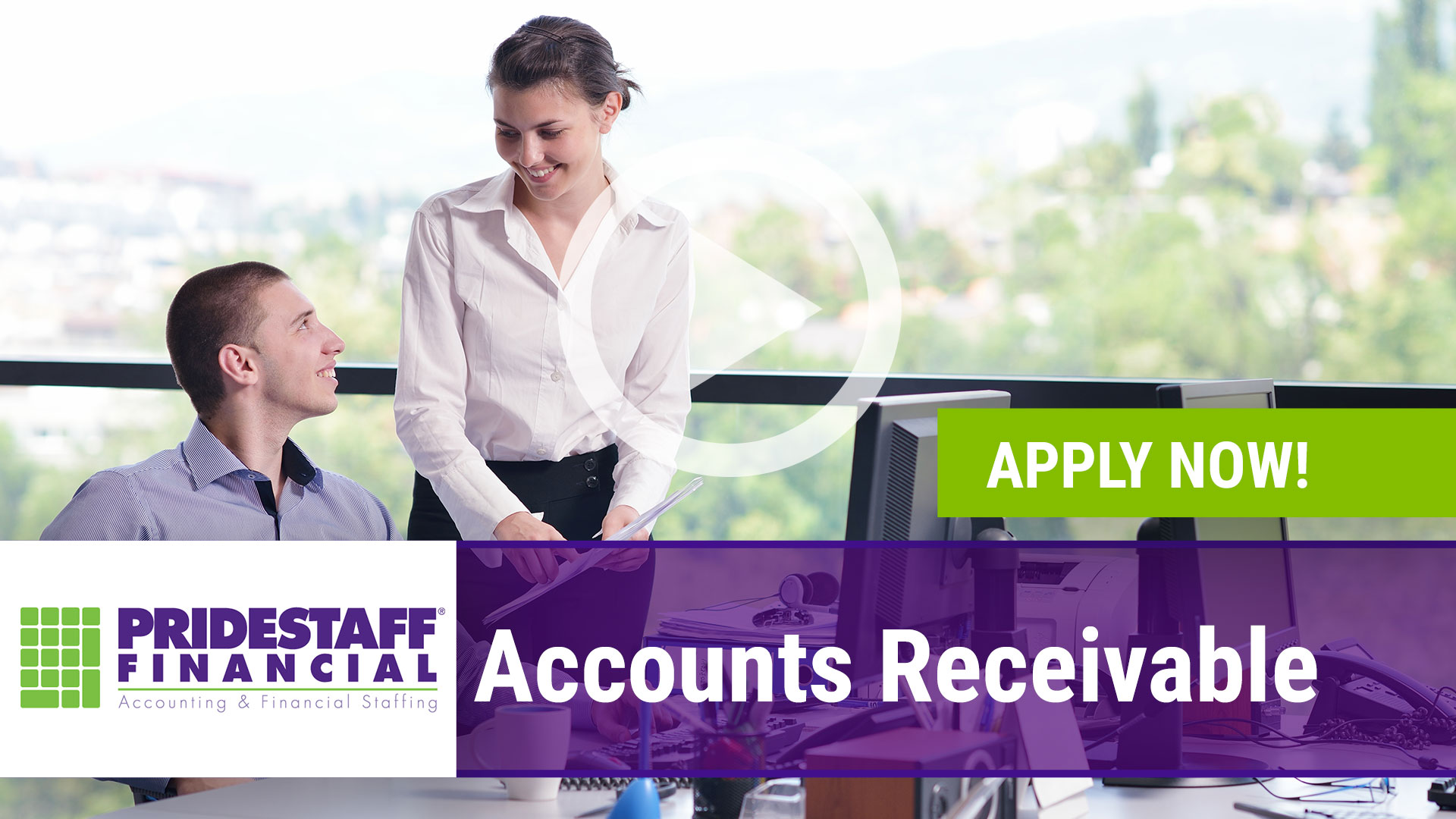 Watch our careers video for available job opening Accounts Receivable in Flower Mound, Texas