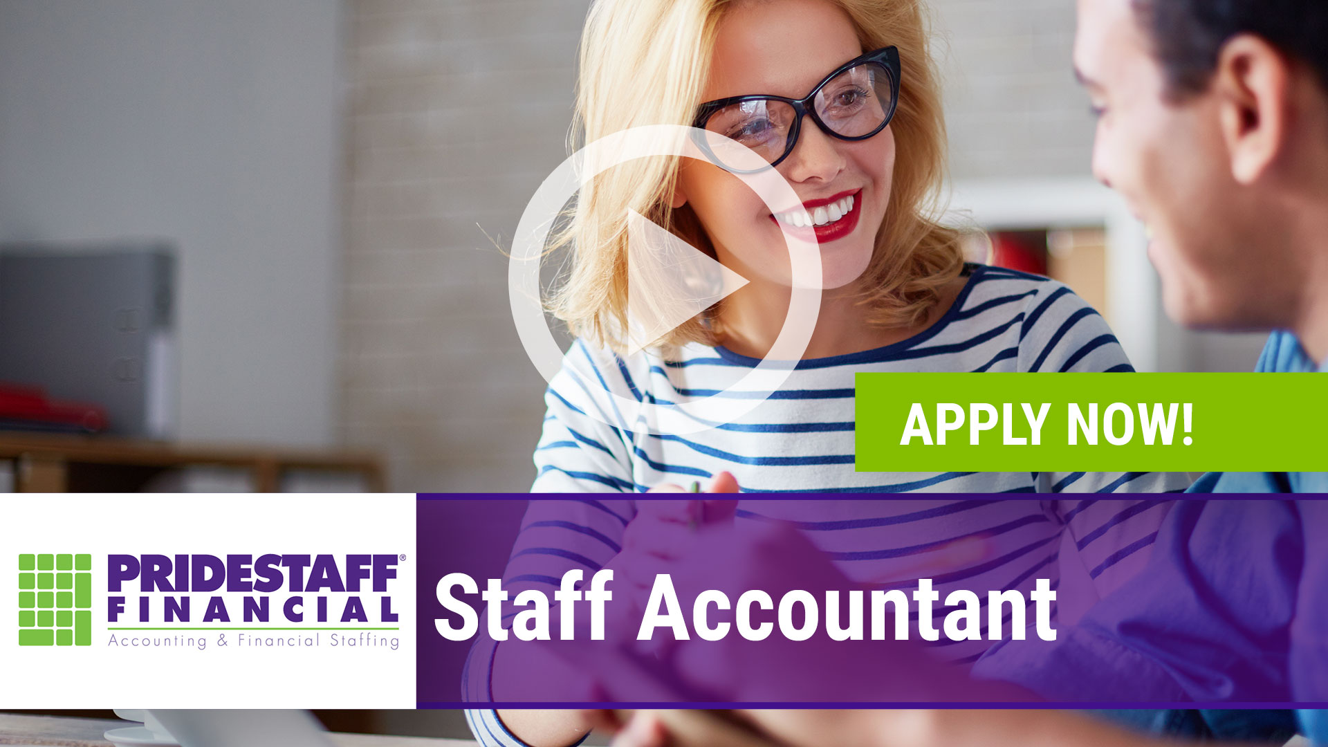 Watch our careers video for available job opening Staff Accountant in Coppell, Texas