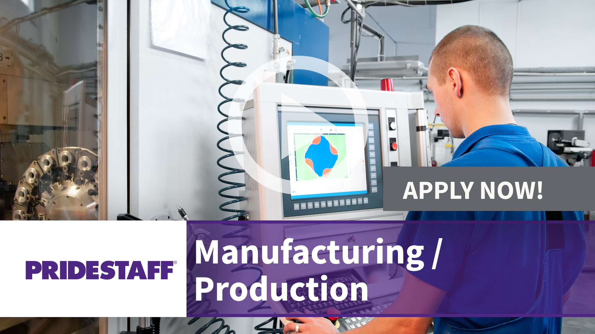 Watch our careers video for available job opening Manufacturing - Production in TBD, TBD