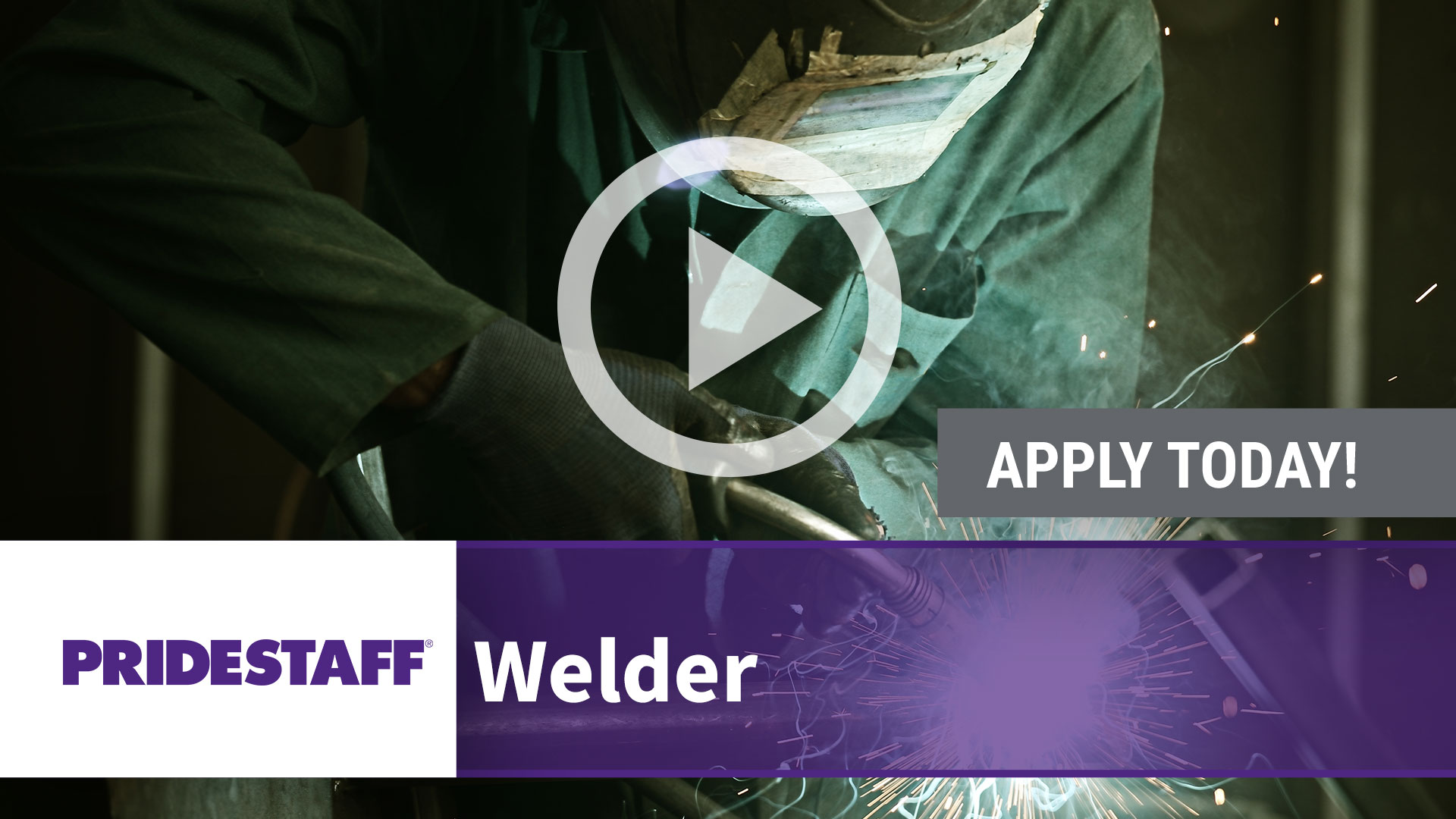 Watch our careers video for available job opening Welders in TBD, TBD