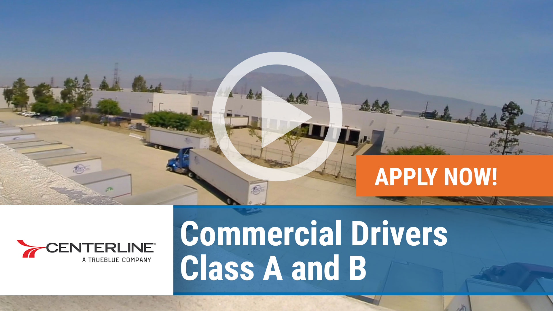 Watch our careers video for available job opening Commercial Drivers - Class A and B in Nationwide, USA