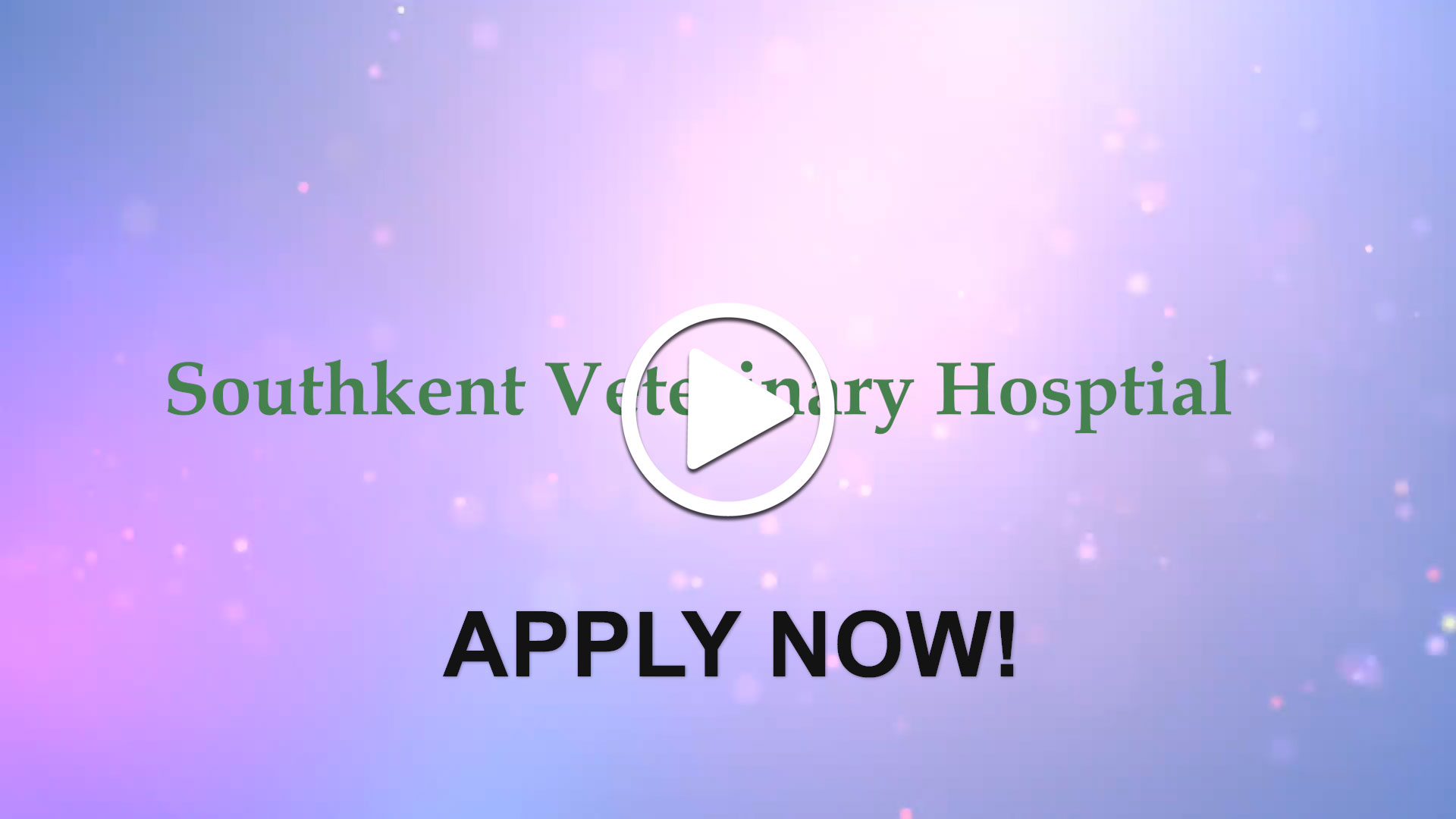 Watch our careers video for available job opening Associate Veterinarian  in Caledonia, Michigan