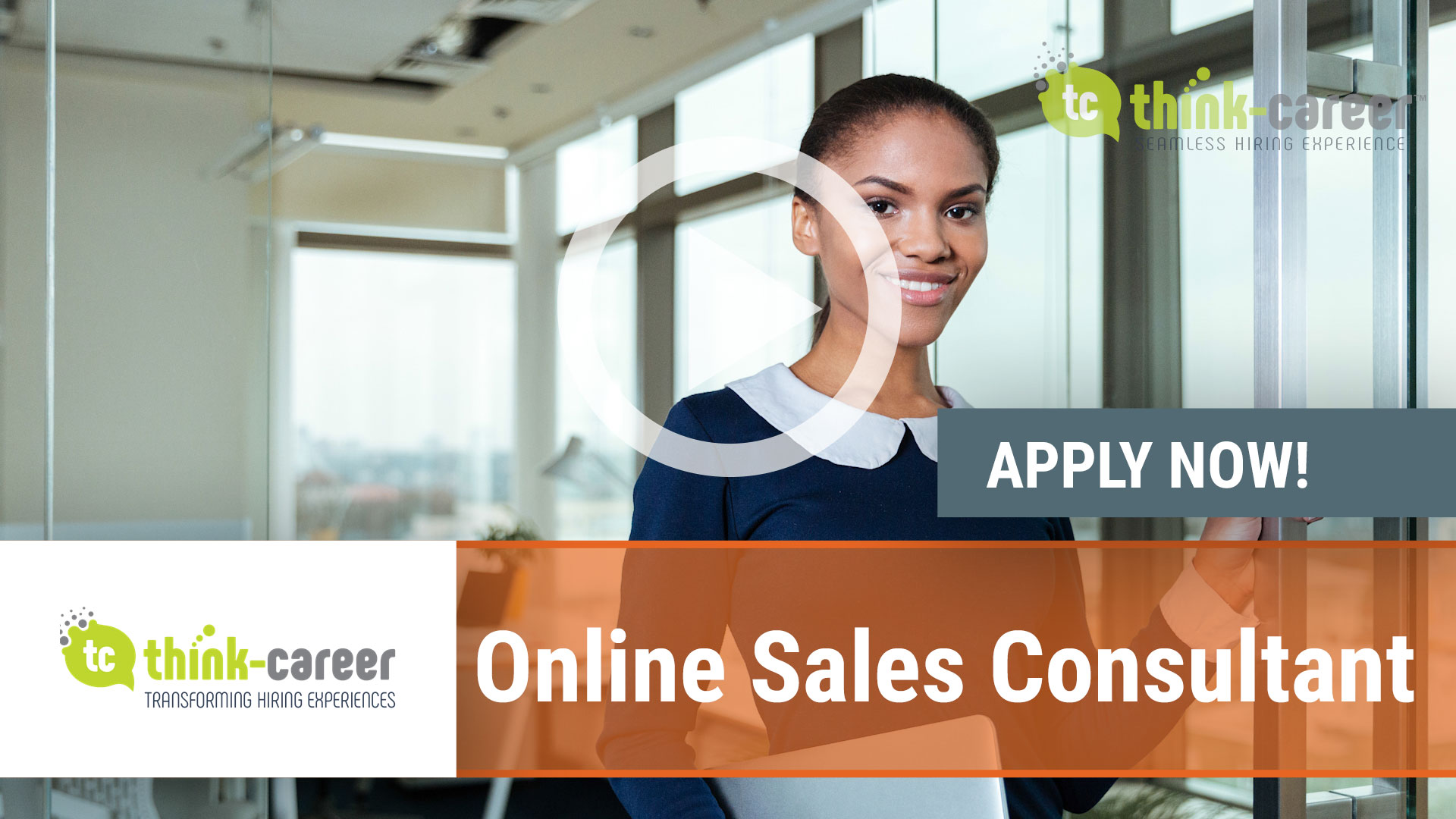 Watch our careers video for available job opening Online Sales Consultant in Cape Town, Western Cape