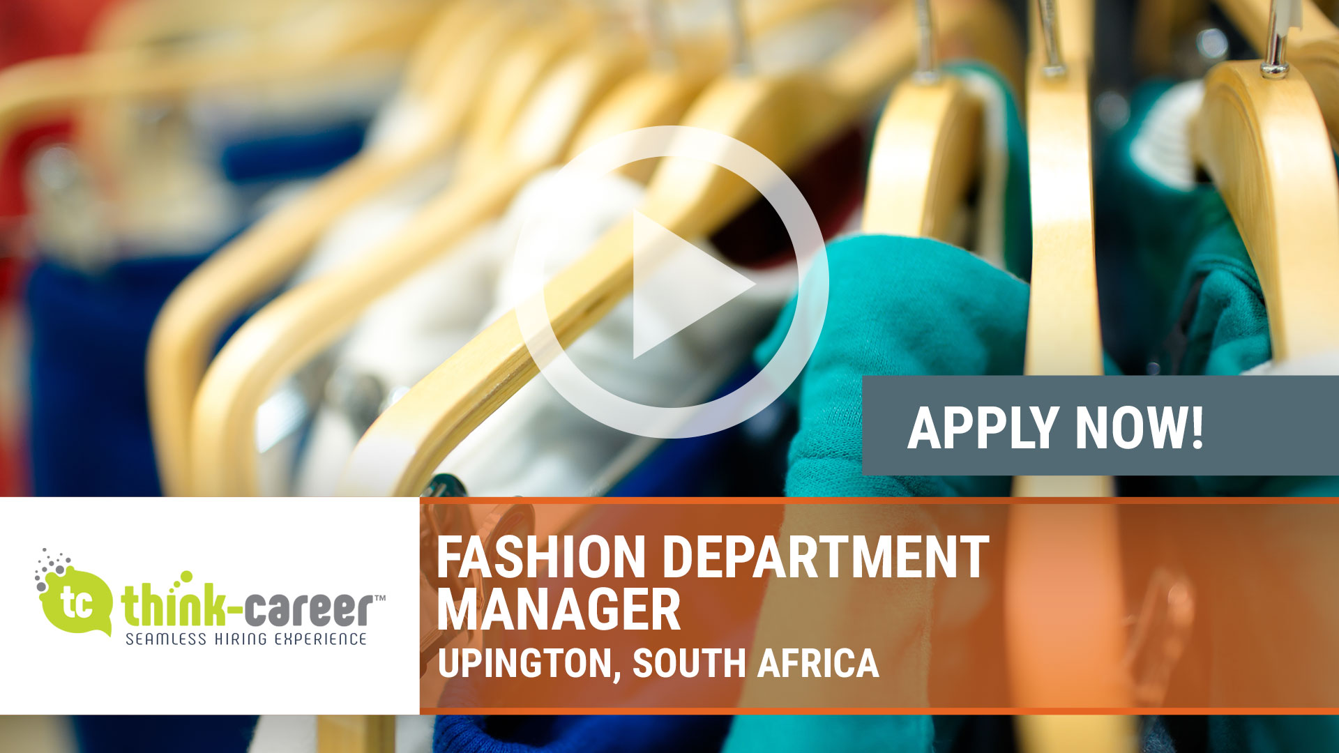 Watch our careers video for available job opening Fashion Department Manager in Upington, South Africa