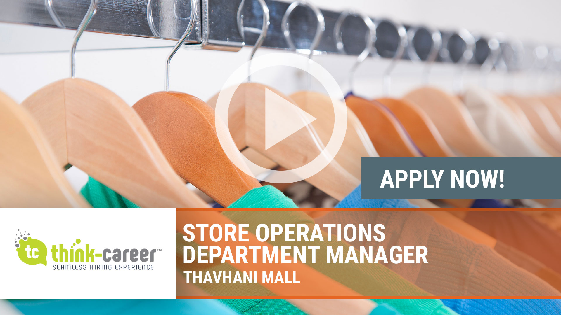 Watch our careers video for available job opening Store Operations Department Manager in Thavhani Mall