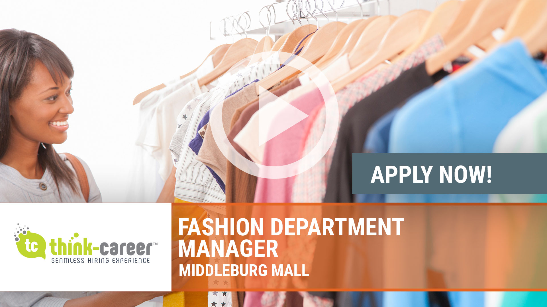 Watch our careers video for available job opening Fashion Department Manager in  Middleburg Mall