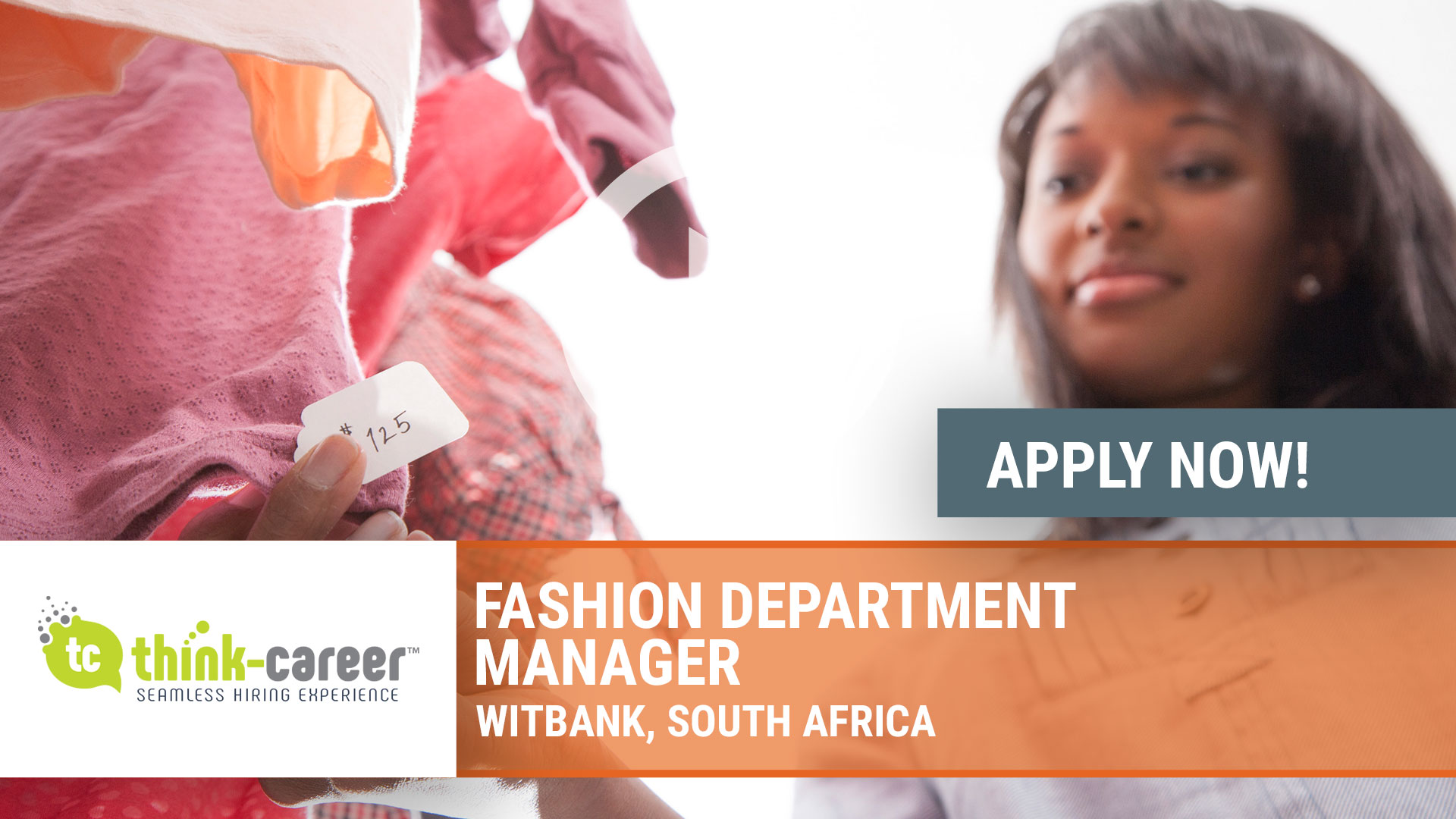 Watch our careers video for available job opening Fashion Department Manager in Witbank, South Africa