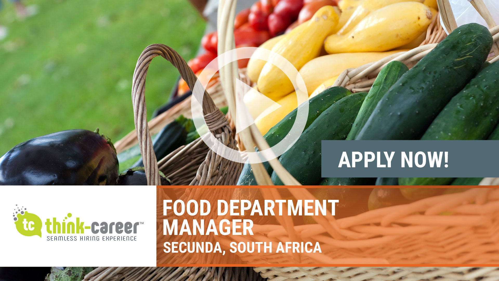 Watch our careers video for available job opening Food Department Manager in Secunda, South Africa