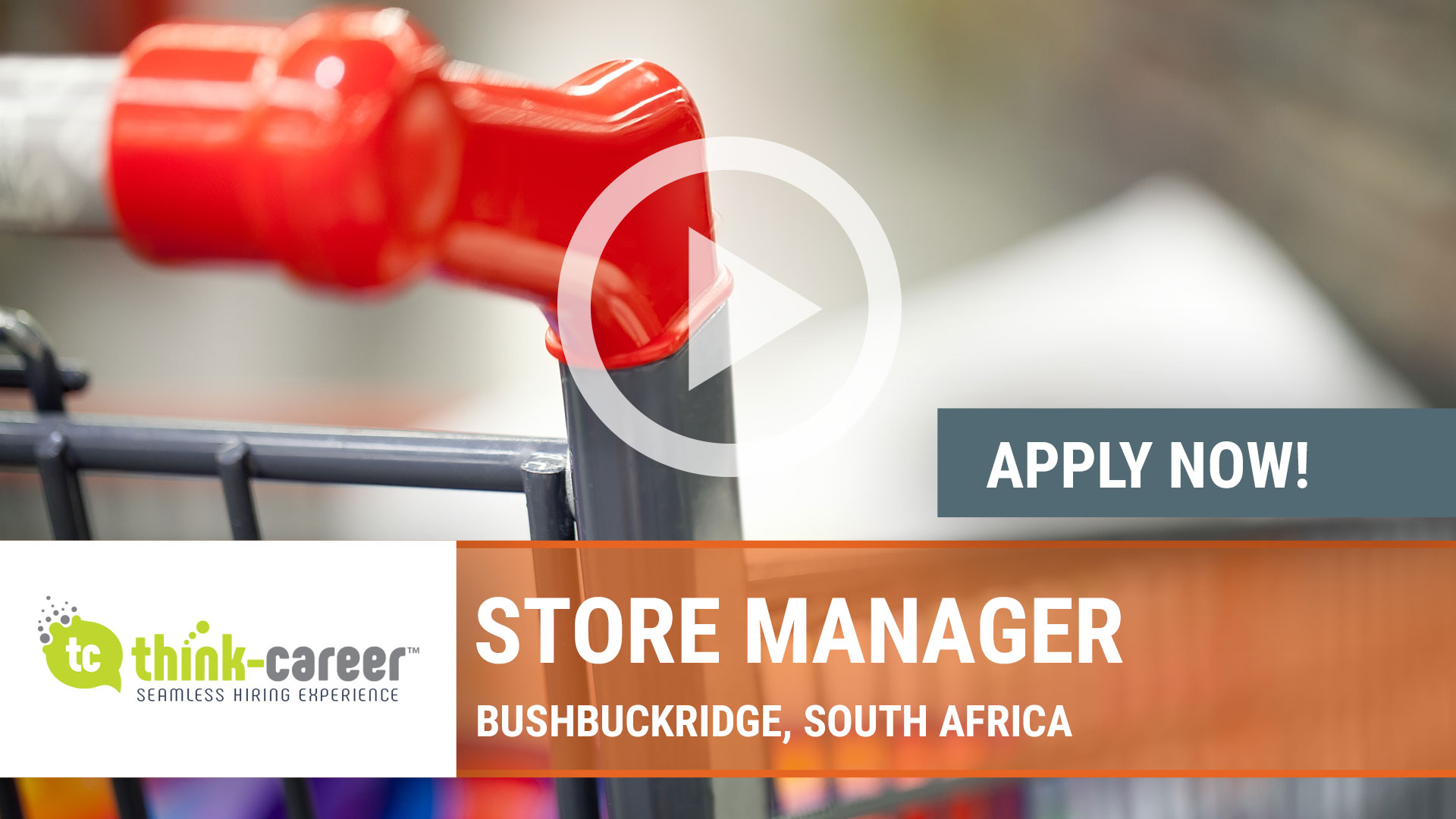 Watch our careers video for available job opening Store Manager in Bushbuckridge, South Africa