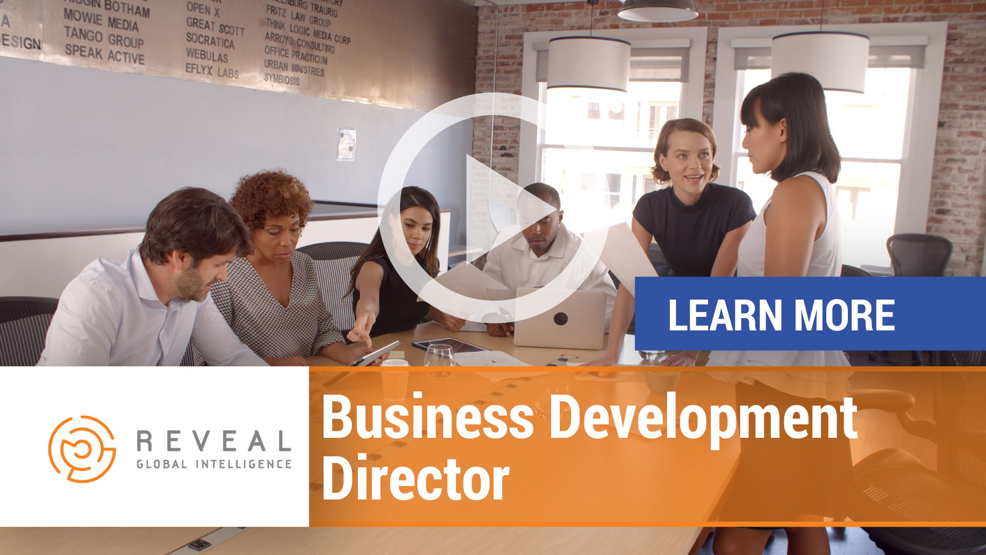 Watch our careers video for available job opening Business Development Director in TBD